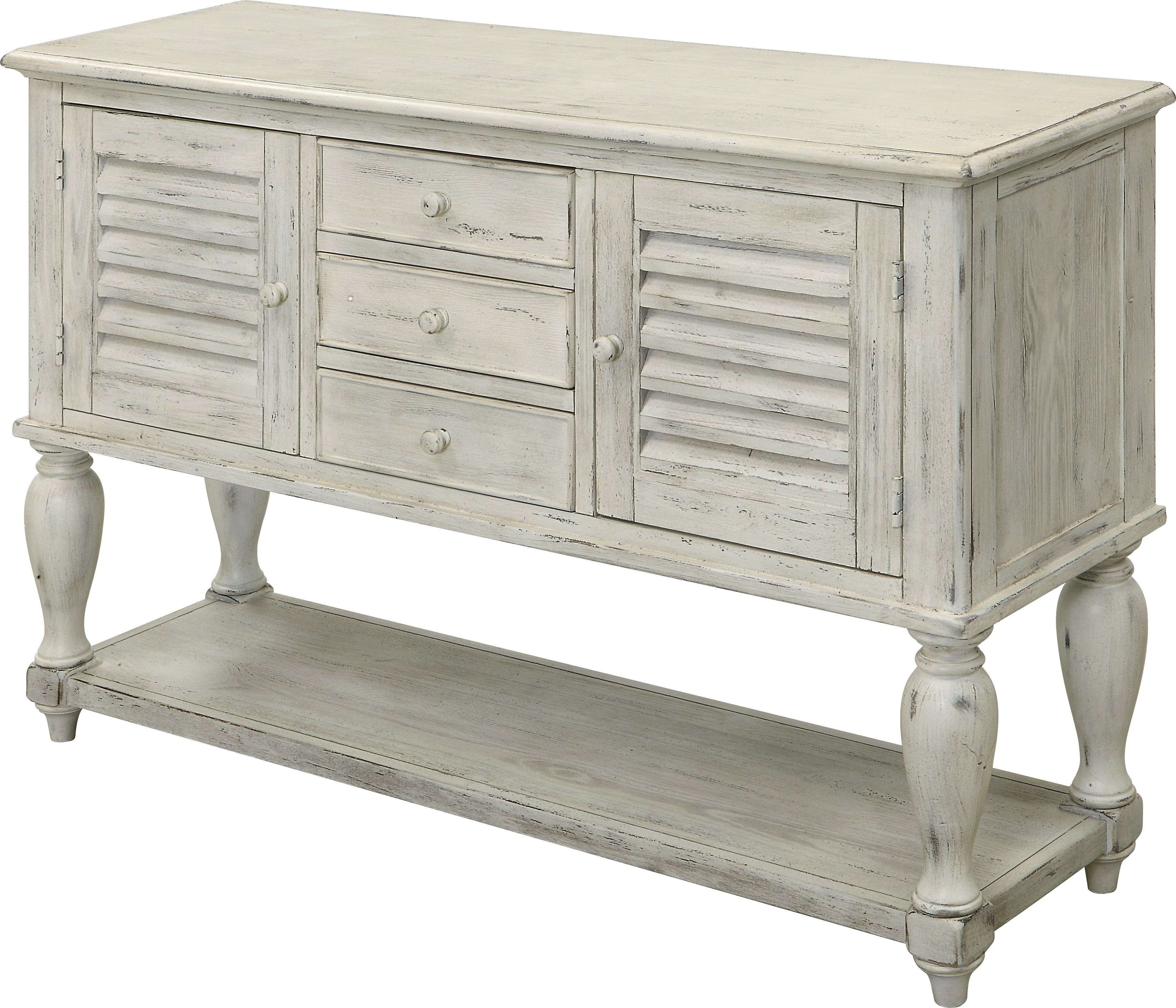 Widely Used Piney Park White Sideboard (Gallery 19 of 20)