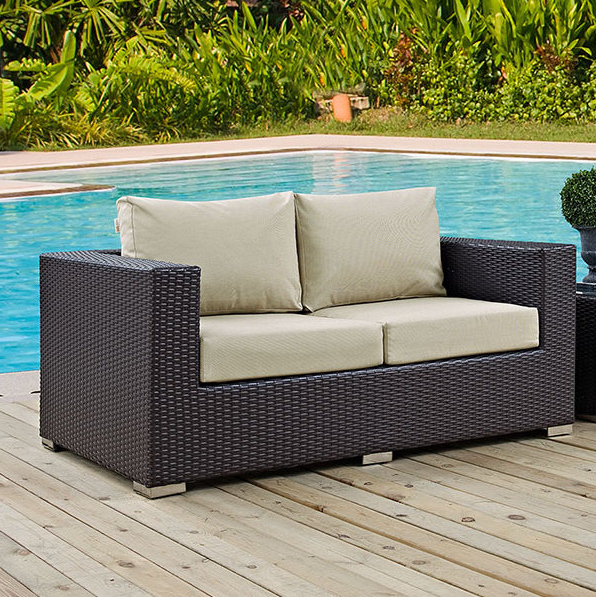 Widely Used Provencher Patio Loveseats With Cushions With Provencher Patio Loveseat With Cushions (Gallery 1 of 20)