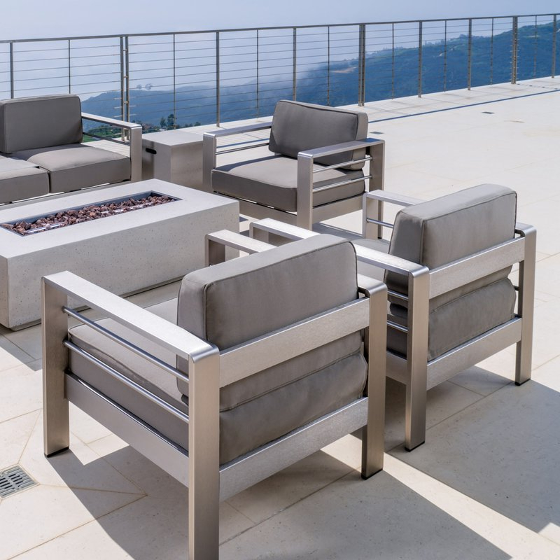 Widely Used Royalston Patio Sofas With Cushions Throughout Royalston 7 Piece Sofa Set With Cushions (Gallery 20 of 20)