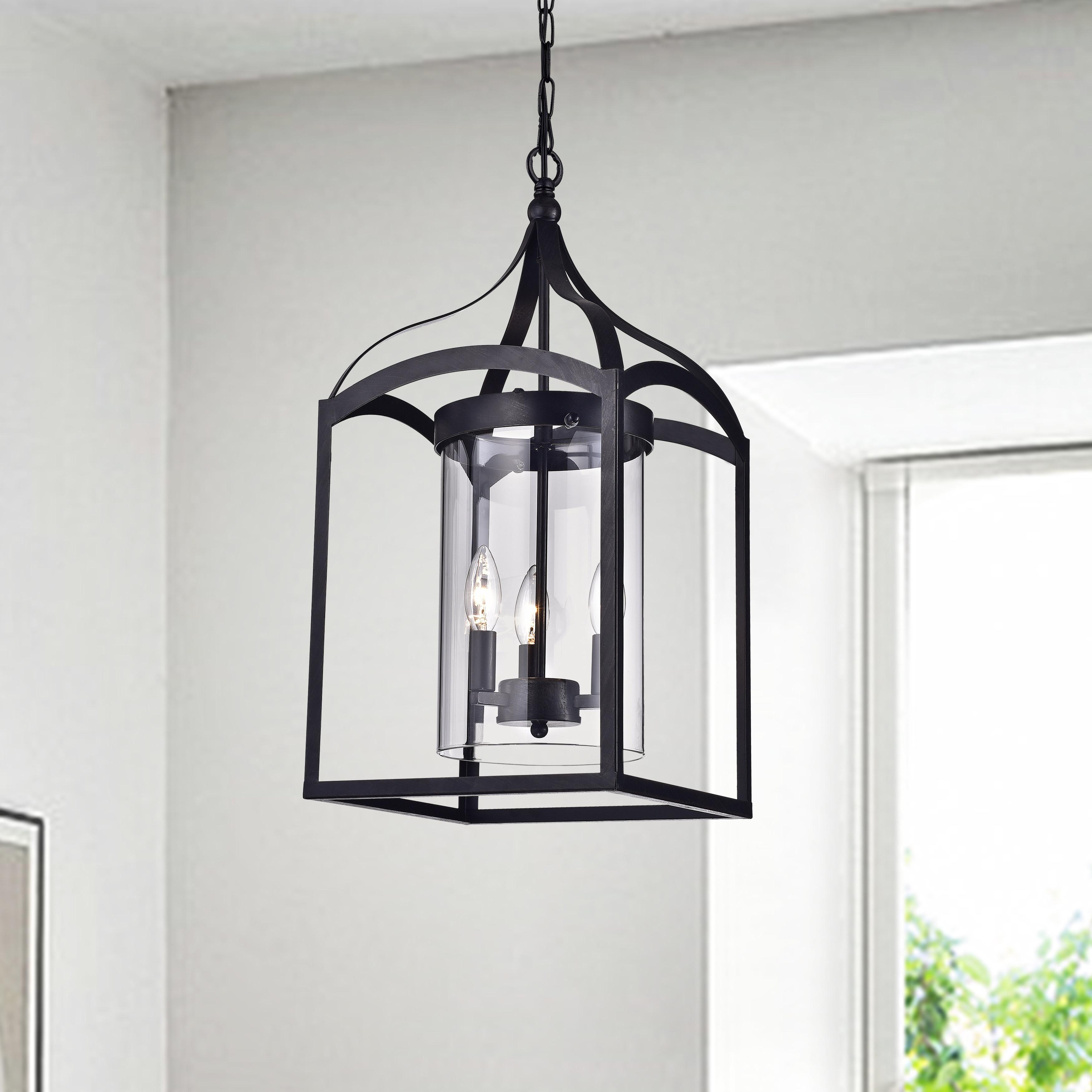 Widely Used Sherri Ann 3 Light Lantern Square / Rectangle Pendants Inside Ericsson 3 Light Lantern Square Pendant (Gallery 18 of 20)