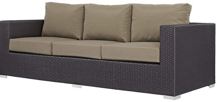 Widely Used Sol 72 Outdoor Brentwood Patio Sofa With Cushions (Gallery 8 of 20)