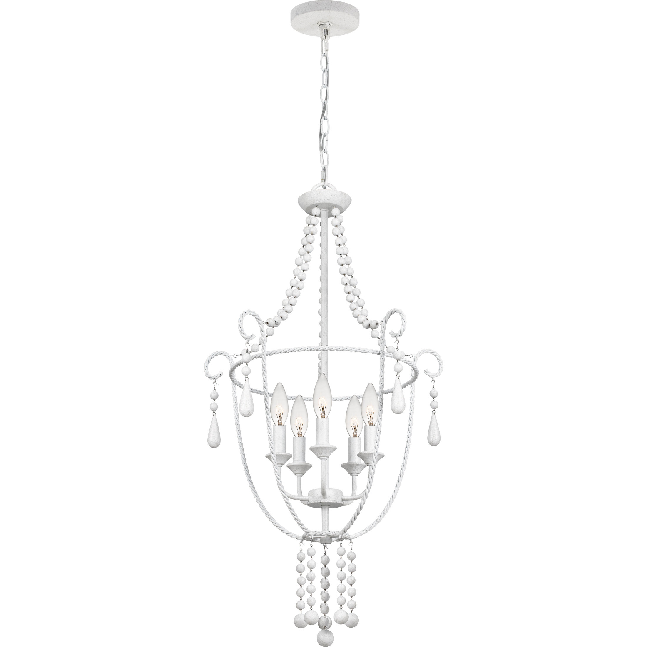Widely Used Statham 5 Light Candle Style Chandelier With Regard To Florentina 5 Light Candle Style Chandeliers (View 16 of 20)
