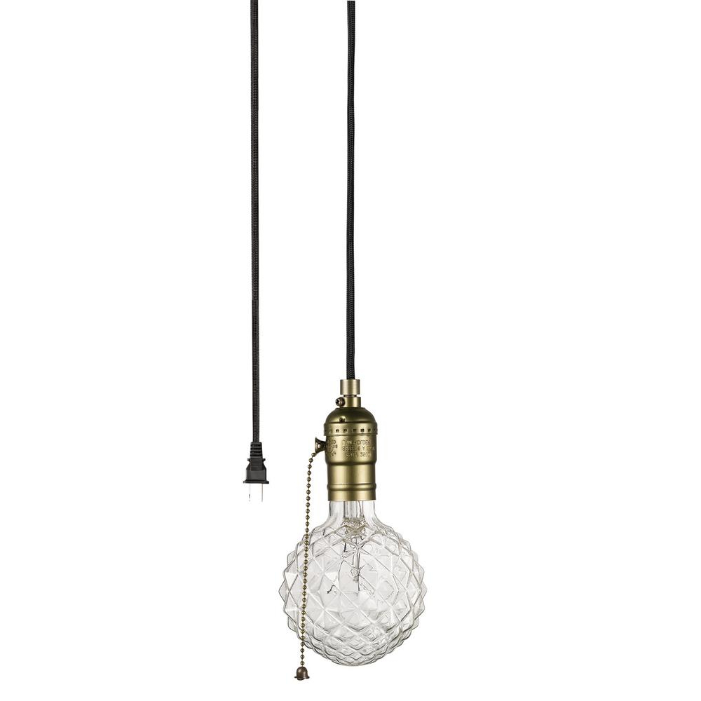 Widely Used Vintage Edison 1 Light Bowl Pendants For Globe Electric Edison 1 Light Matte Bronze And Black Pendant (View 18 of 20)