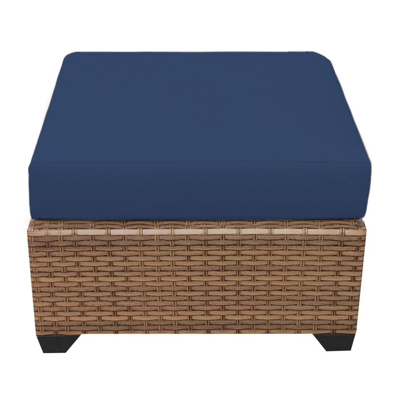 Widely Used Waterbury Ottoman With Cushion For Avadi Outdoor Sofas & Ottomans 3 Piece Set (View 15 of 20)