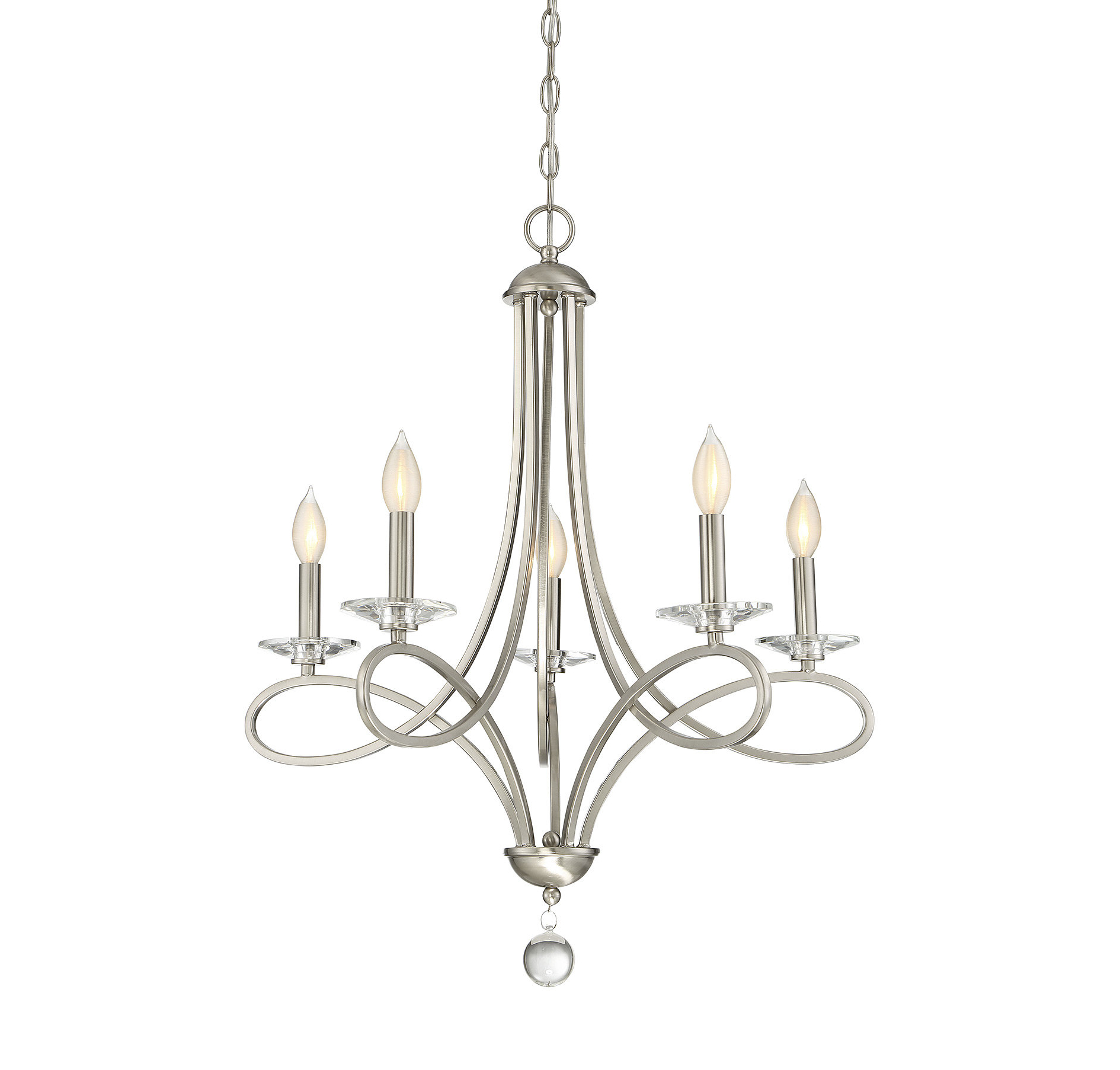 Willa Arlo Interiors Berger 5 Light Candle Style Chandelier Regarding Popular Florentina 5 Light Candle Style Chandeliers (View 20 of 20)
