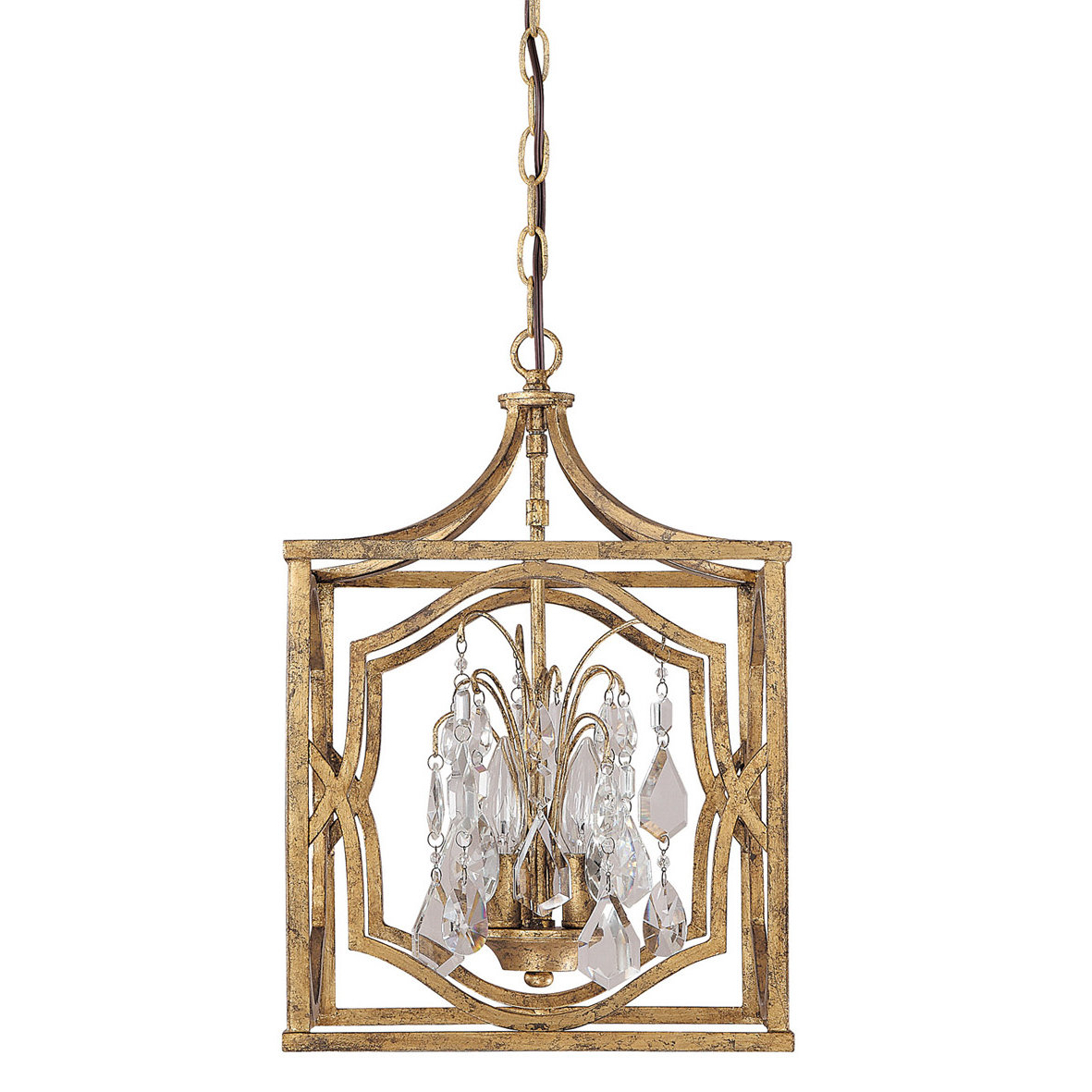 Willa Arlo Interiors Destrey 3 Light Lantern Pendant For Current Nisbet 4 Light Lantern Geometric Pendants (View 20 of 20)