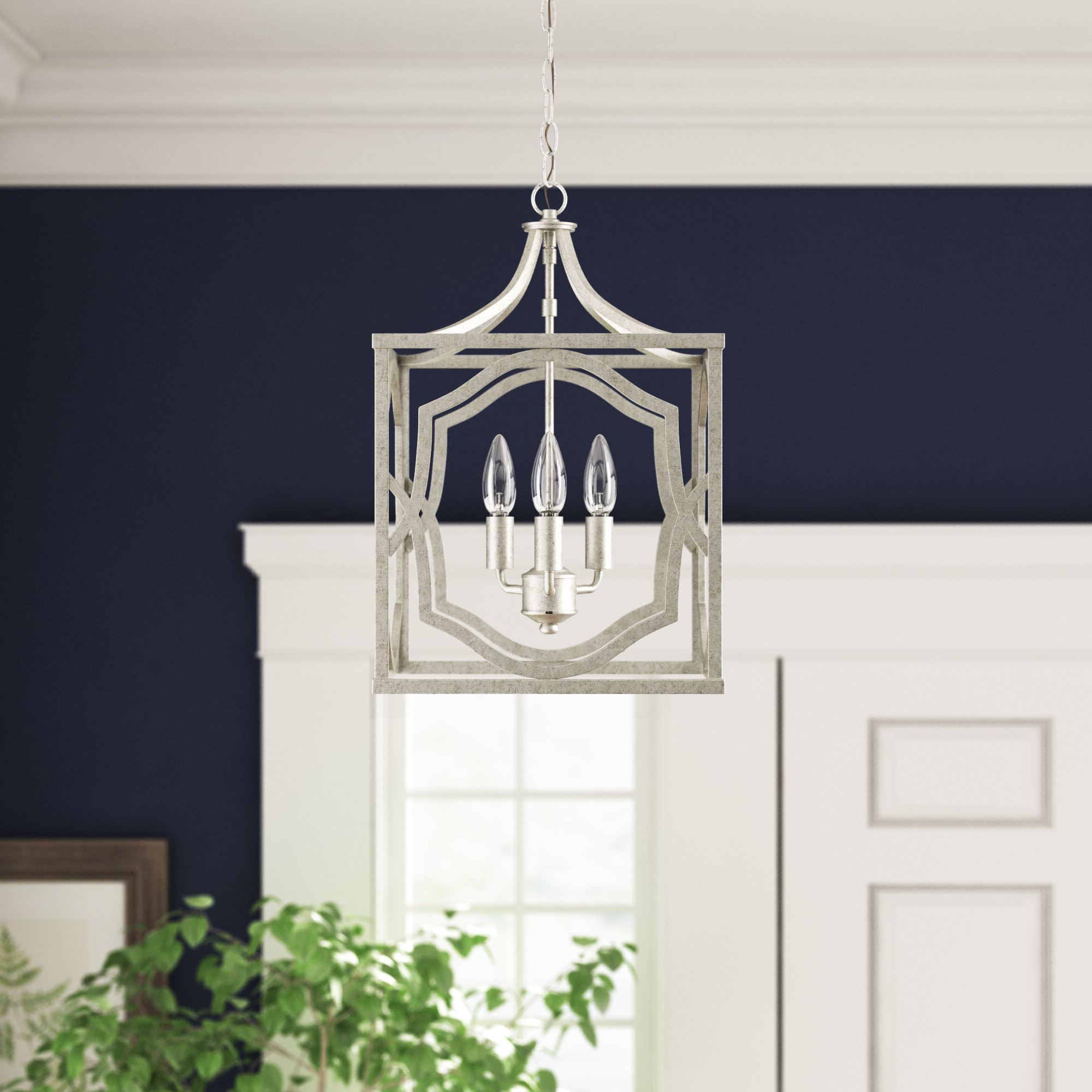 Willa Arlo Interiors Destrey 3 Light Lantern Square/rectangle Pendant With Regard To Famous Thorne 6 Light Lantern Square / Rectangle Pendants (View 20 of 20)