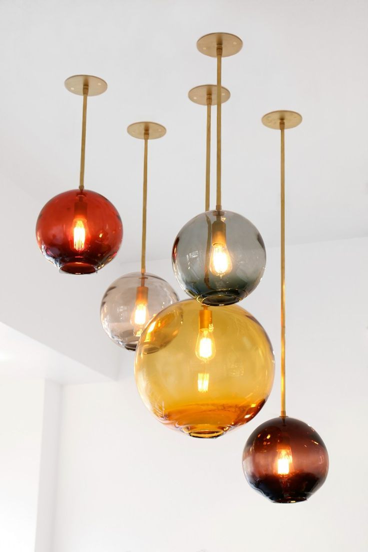 Willems 1 Light Single Drum Pendants Throughout Well Known 15 Blown Glass Pendant Lighting Ideas For A Modern And Sleek (View 20 of 20)