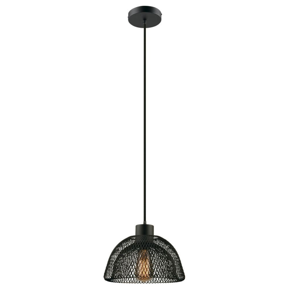 Williamsburg 1 Light Plug In Or Hardwire Pendant, Black Intended For Well Known Vintage Edison 1 Light Bowl Pendants (View 20 of 20)