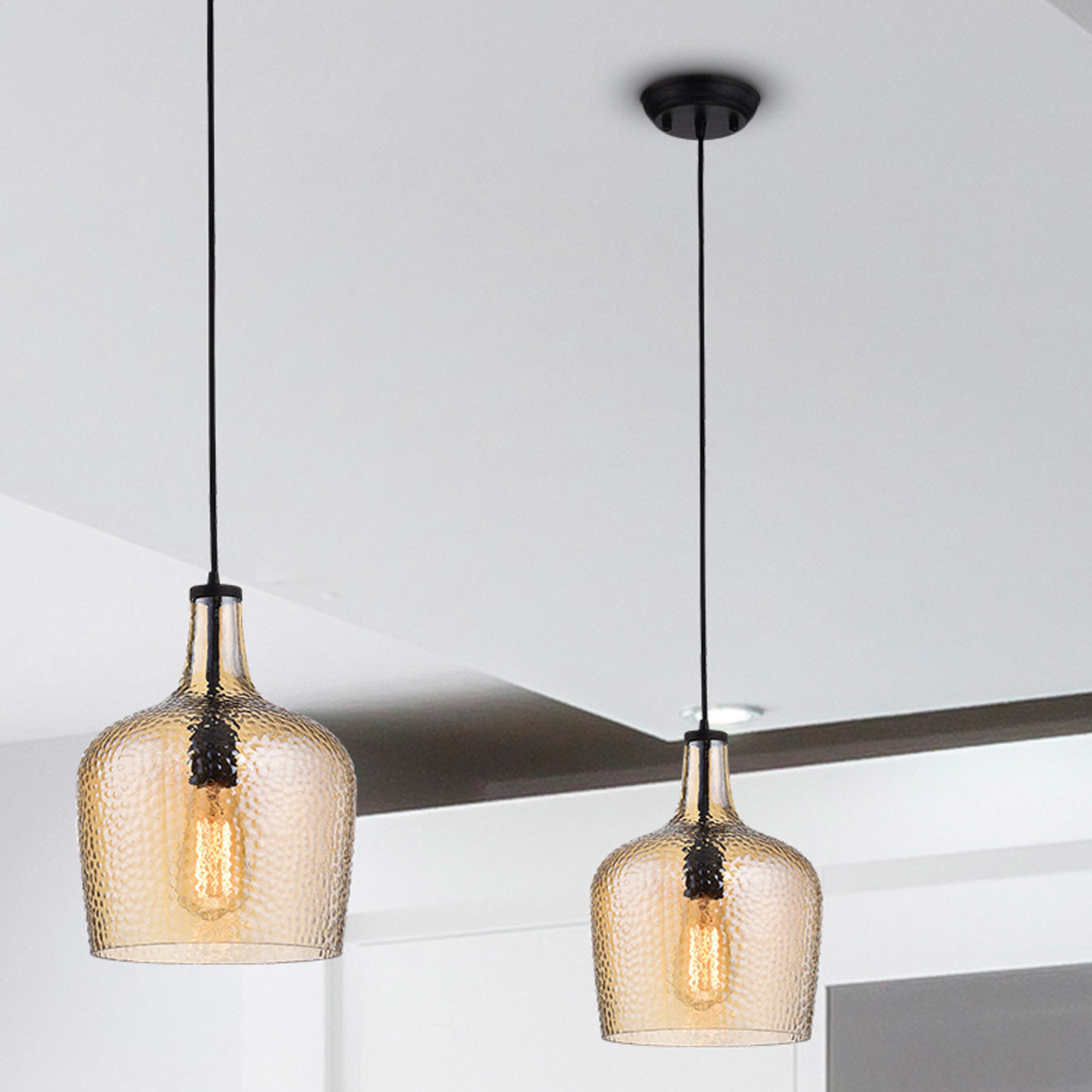 Williston Forge Scruggs 1 Light Geometric Pendant & Reviews With Regard To Most Recently Released Demi 1 Light Globe Pendants (View 20 of 20)