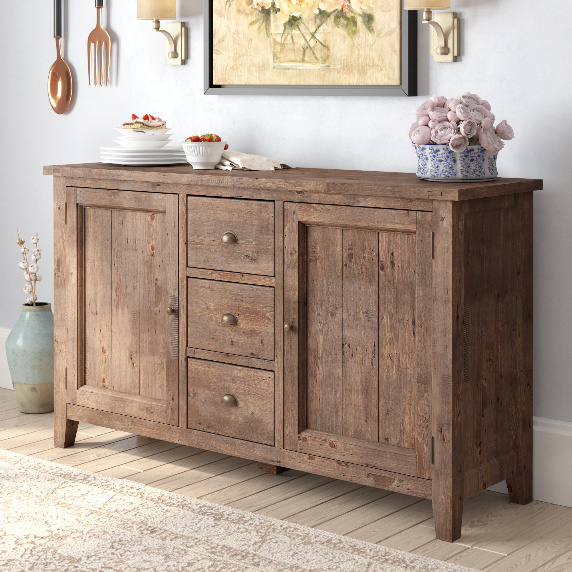 Wilmore Sideboard For Preferred Whitten Sideboards (Gallery 4 of 20)
