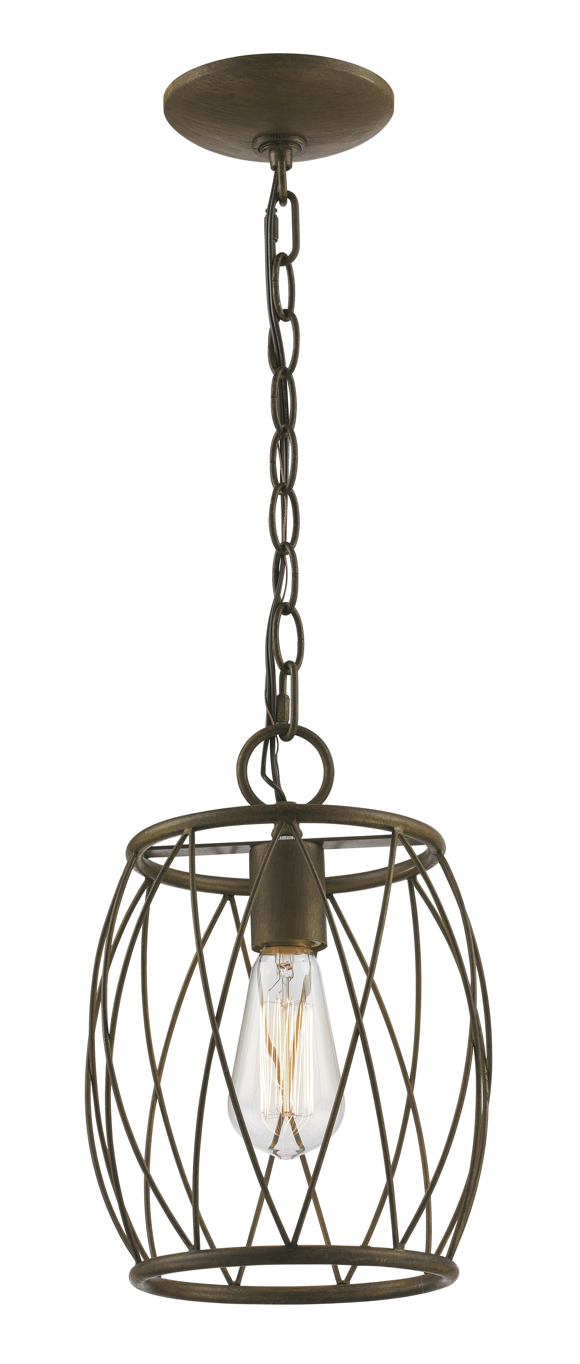 Wrought Studio Poynter 1 Light Single Cylinder Pendant Regarding Most Recent Hurst 1 Light Single Cylinder Pendants (View 20 of 20)
