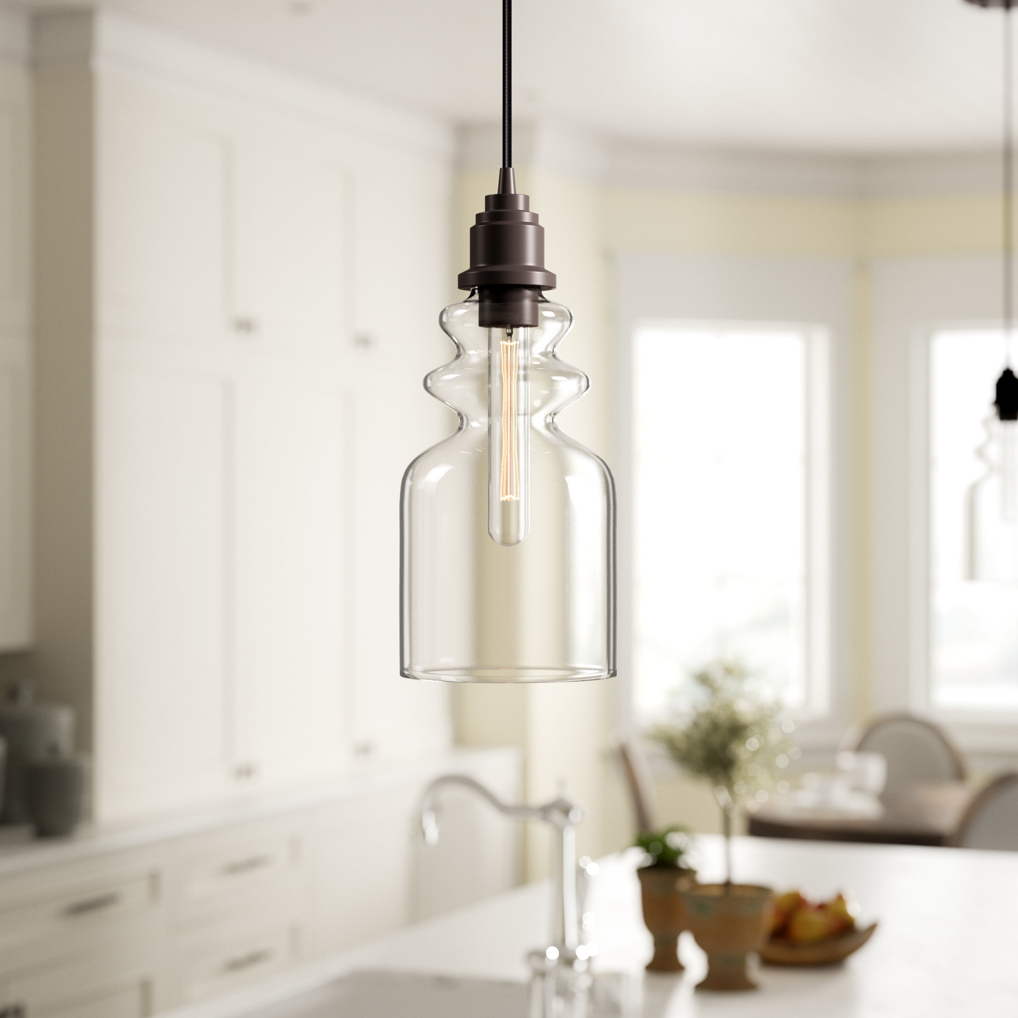 Wyckoff 1 Light Bell Pendant (View 20 of 20)