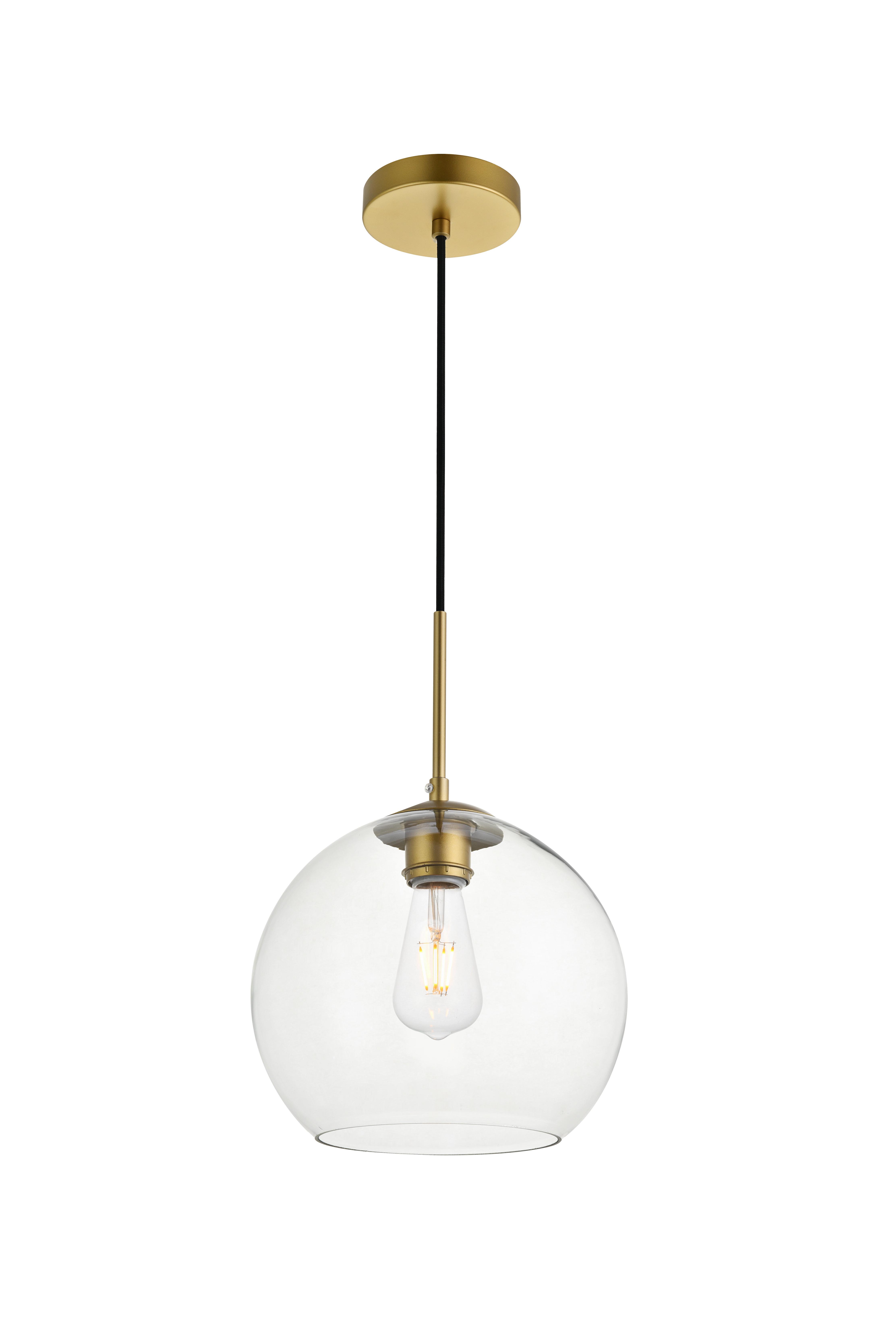 Yearwood 1 Light Single Globe Pendant Throughout Well Known Cayden 1 Light Single Globe Pendants (View 20 of 20)