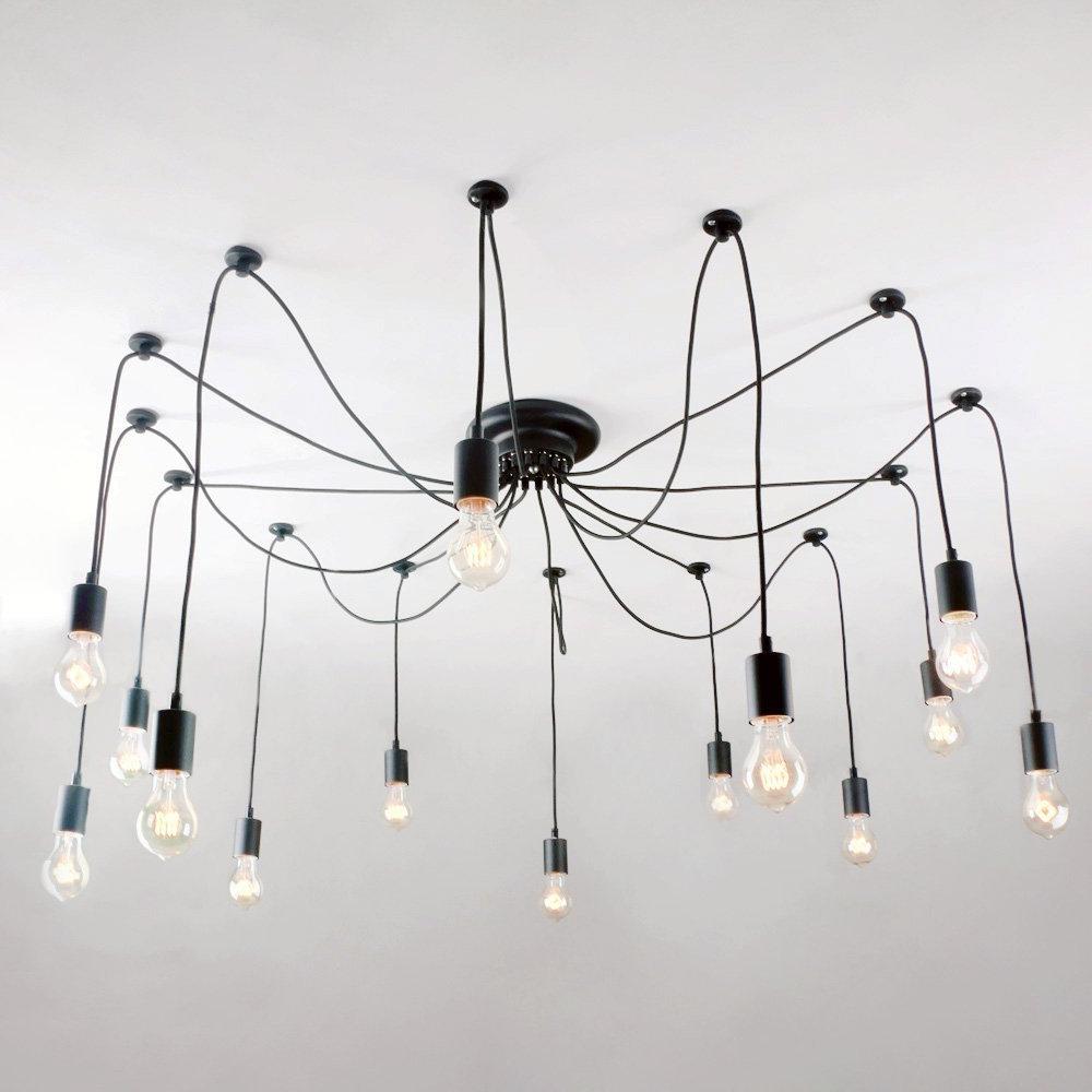 Zachery 5 Light Led Cluster Pendants Regarding Most Recent Modern Cluster Pendant Lighting (Gallery 18 of 20)