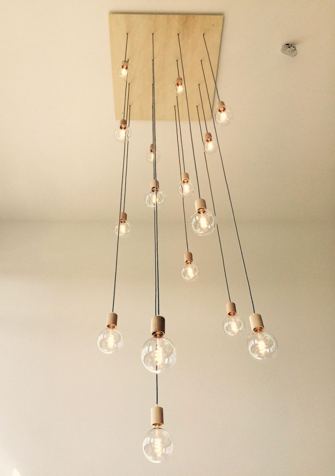 Zachery 5 Light Led Cluster Pendants With Trendy Maatwerk Lampen (View 17 of 20)