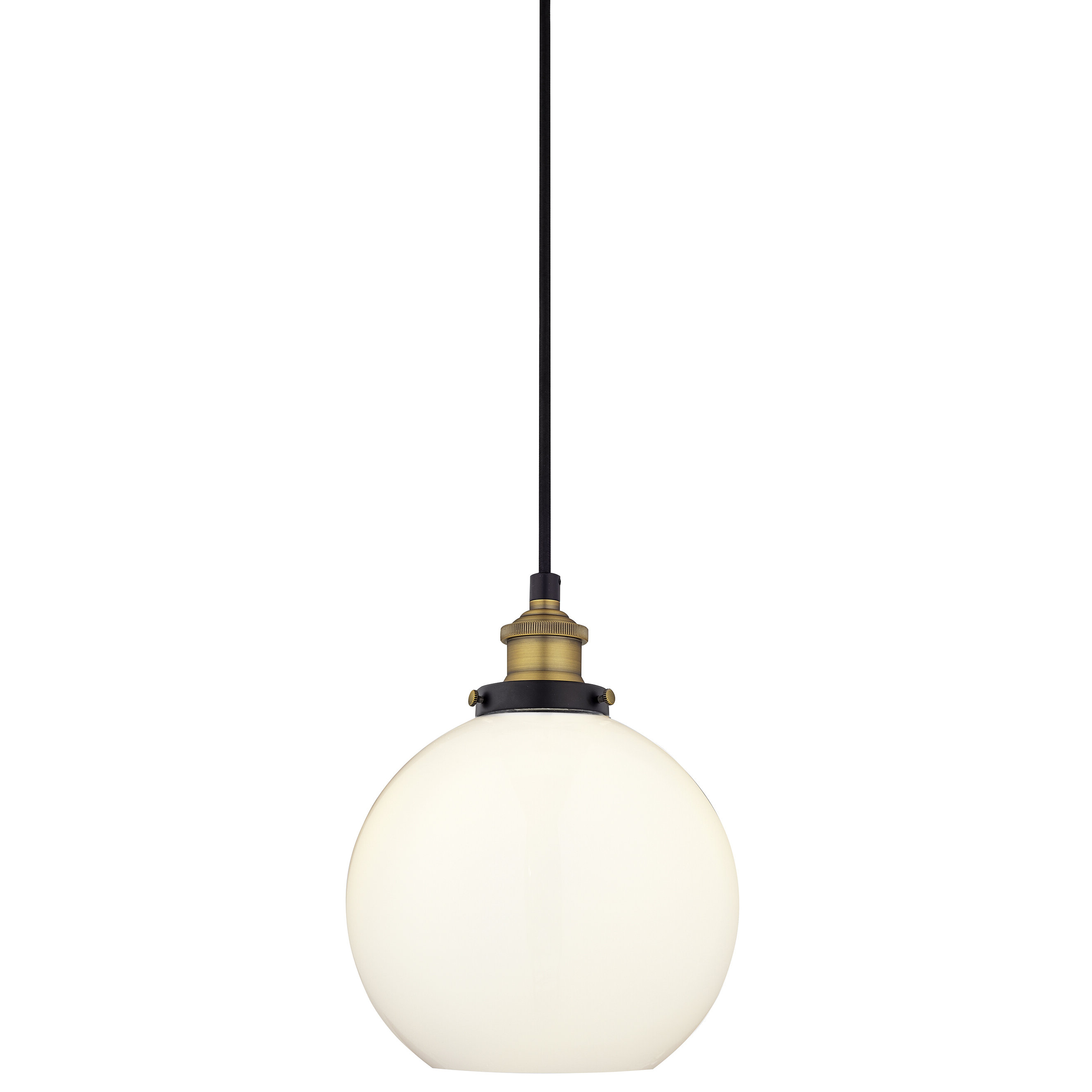 1 Light Geometric Globe Pendants With Regard To 2020 Dunneback 1 Light Single Globe Pendant (View 6 of 20)