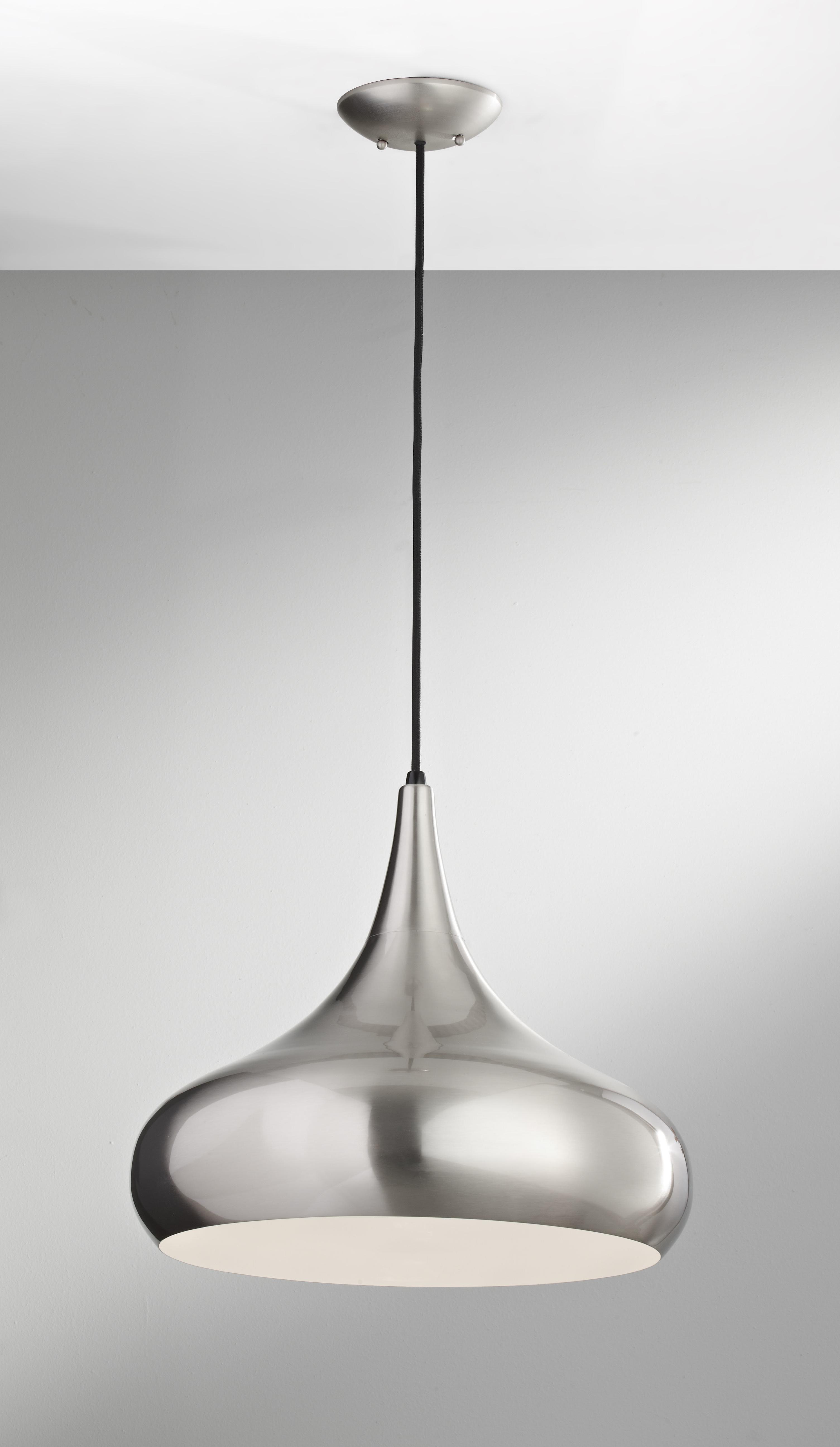 1 Light Single Teardrop Pendants In Newest Dinesen 1 Light Single Teardrop Pendant (View 17 of 20)