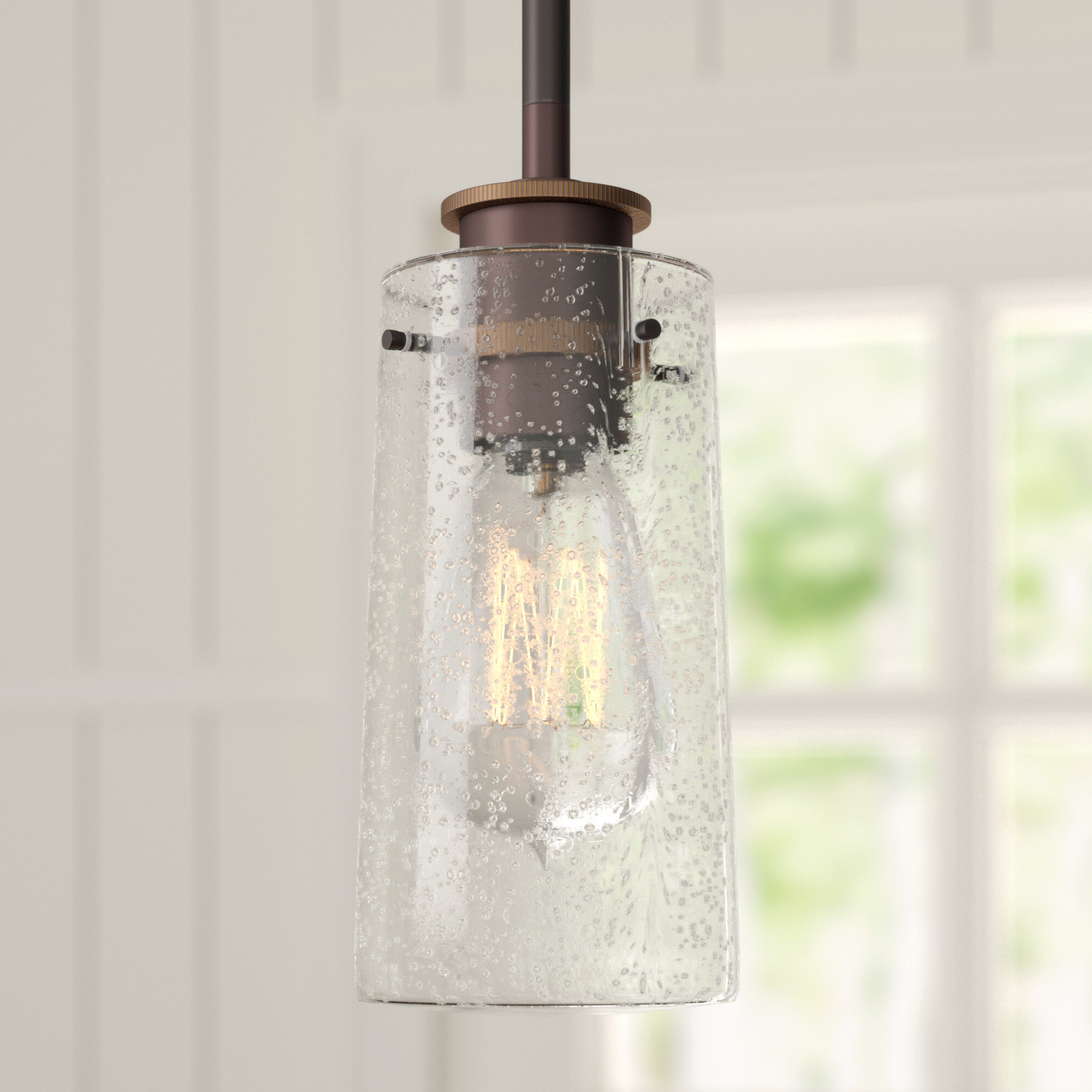 2019 Angelina 1 Light Single Cylinder Pendants In 1 Light Single Cylinder Pendant (View 1 of 20)