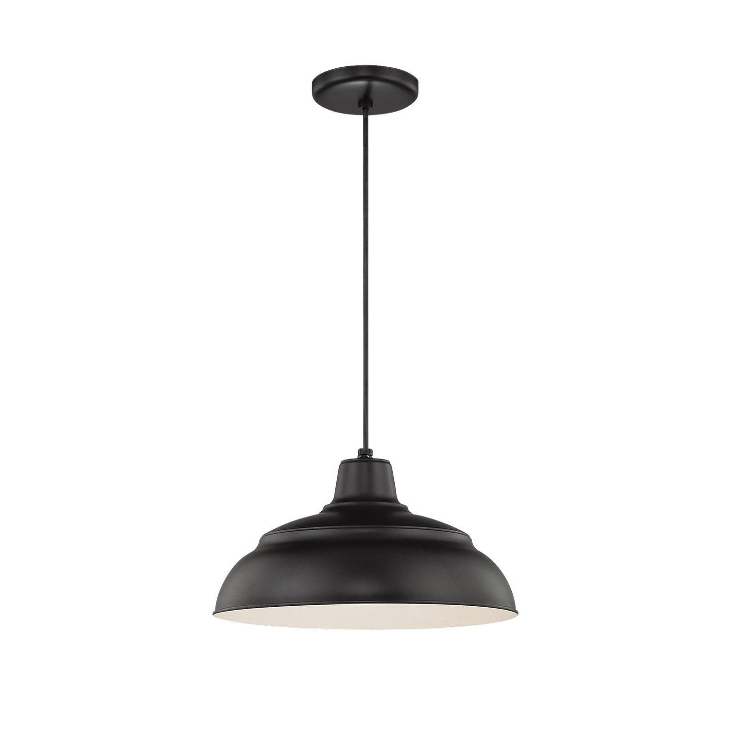 2020 Stetson 1 Light Bowl Pendant Regarding Adriana Black 1 Light Single Dome Pendants (View 11 of 20)