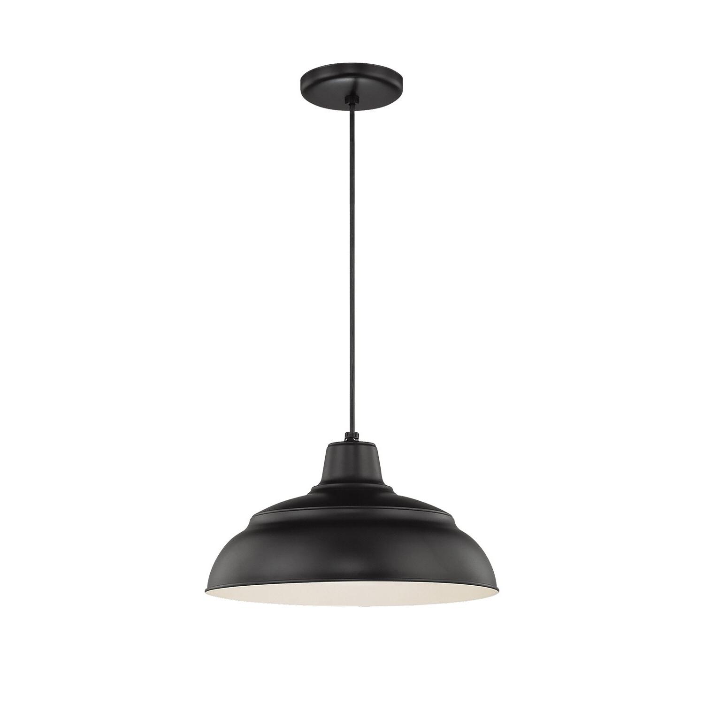 2020 Stetson 1 Light Bowl Pendant Regarding Adriana Black 1 Light Single Dome Pendants (View 1 of 20)