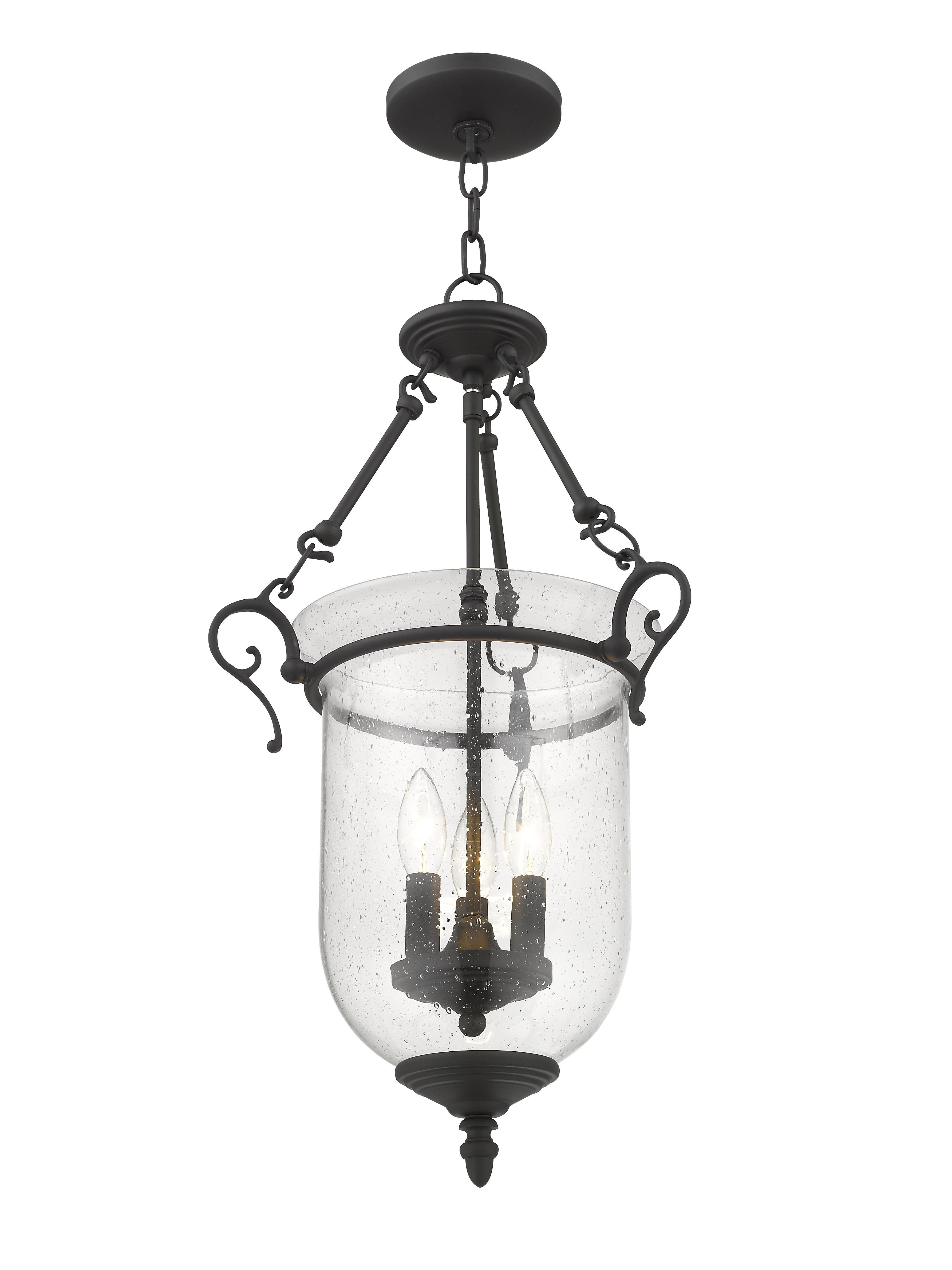 3 Light Single Urn Pendants Intended For 2019 Sackler 3 Light Single Urn Pendant (View 1 of 20)