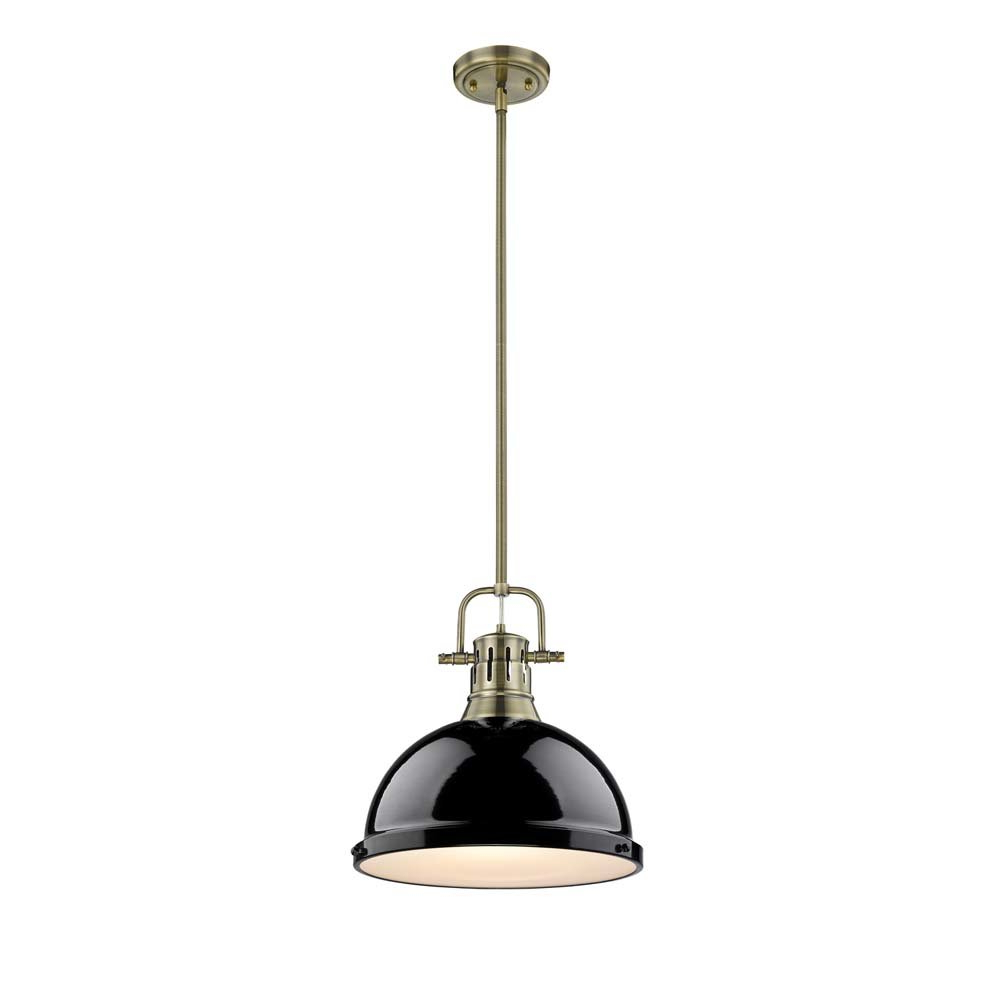 Abernathy 1 Light Dome Pendants Throughout Most Popular Bodalla 1 Light Dome Pendant (View 17 of 20)