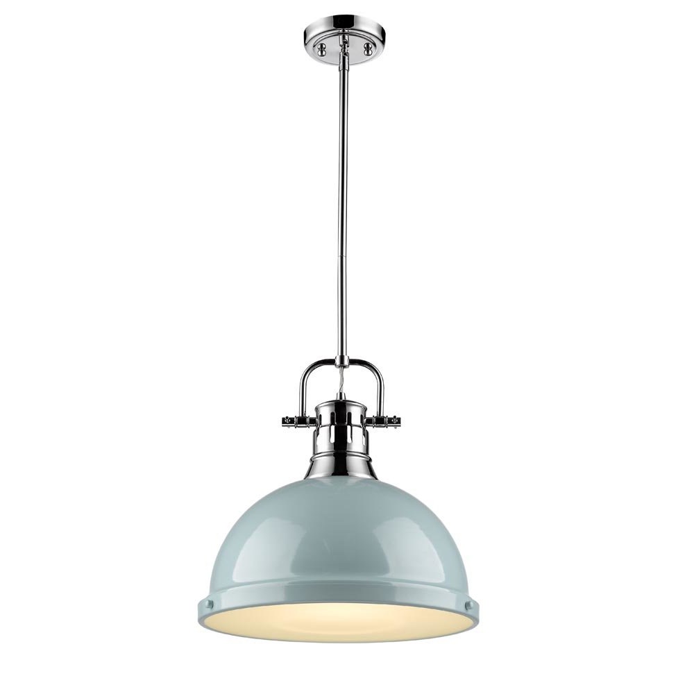 Abernathy 1 Light Dome Pendants With Current Bodalla 1 Light Dome Pendant (View 4 of 20)