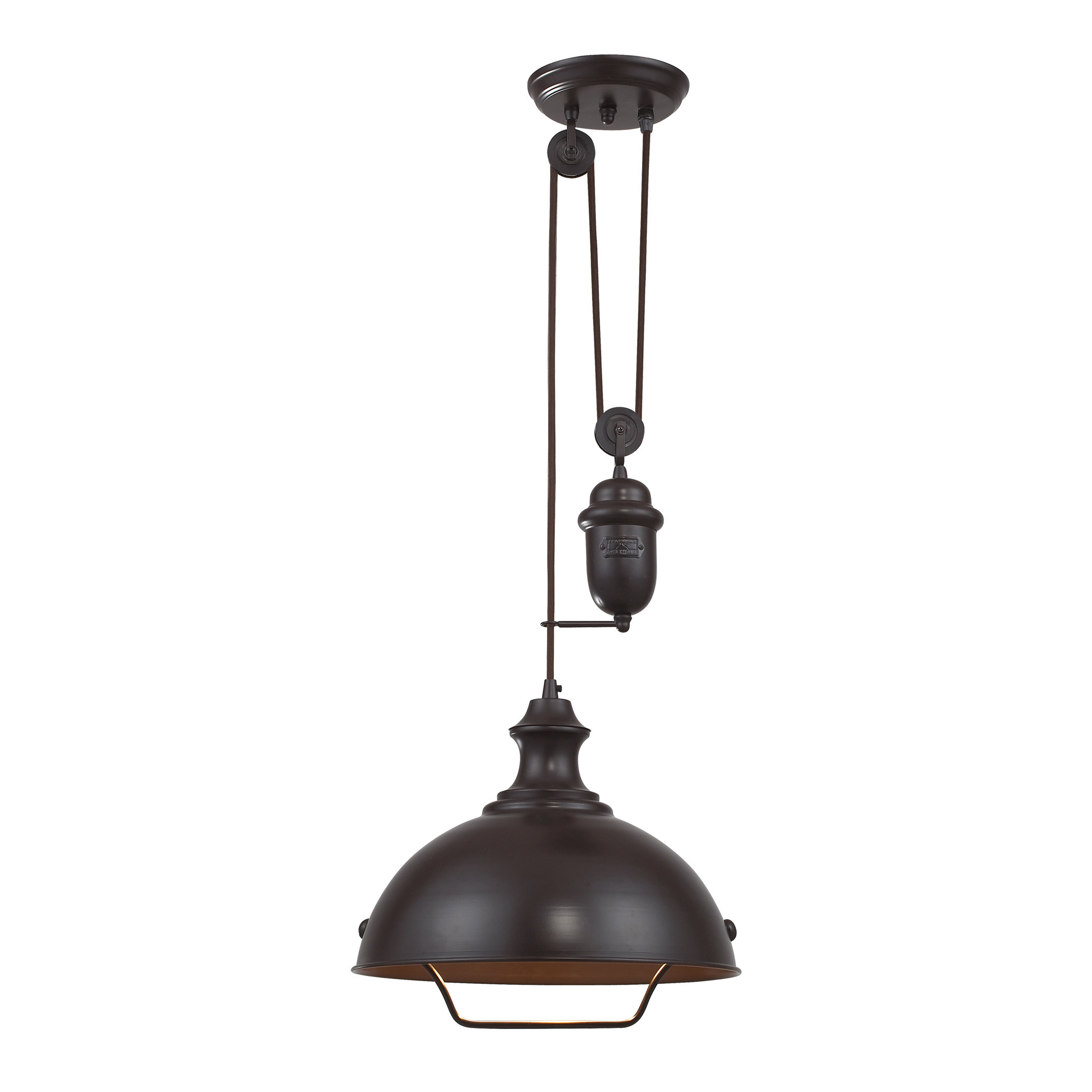 Abordale 1 Light Single Dome Pendants For Favorite Legrand 1 Light Single Dome Pendant (View 5 of 20)