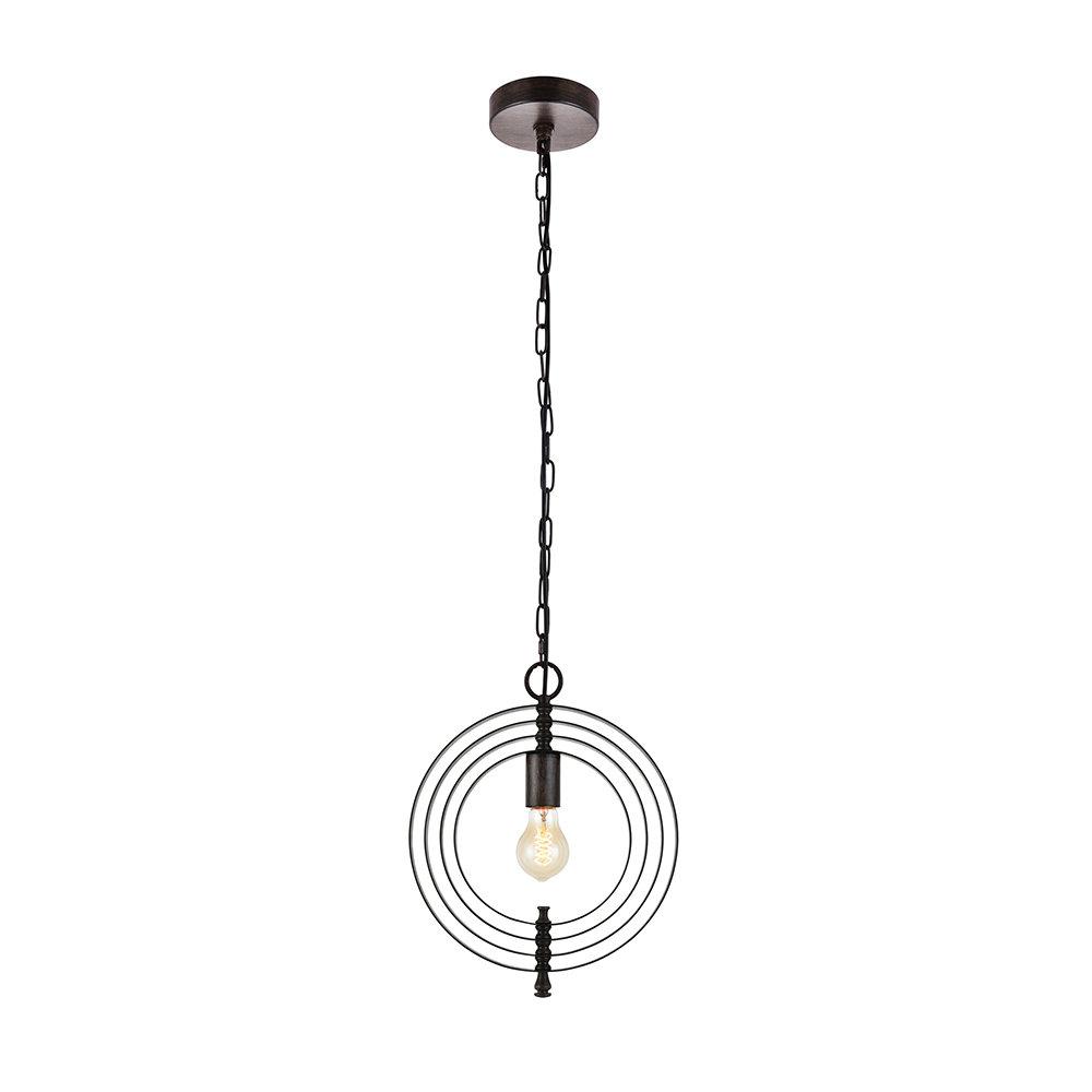 Akash Industrial Vintage 1 Light Geometric Pendants Inside Famous Rossi Industrial Vintage 1 Light Geometric Pendant (Gallery 2 of 20)