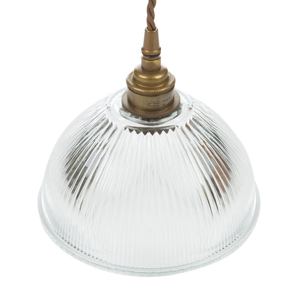 Amara 2 Light Dome Pendants Within Preferred Dome Prismatic Pendant Light – Small (View 8 of 20)