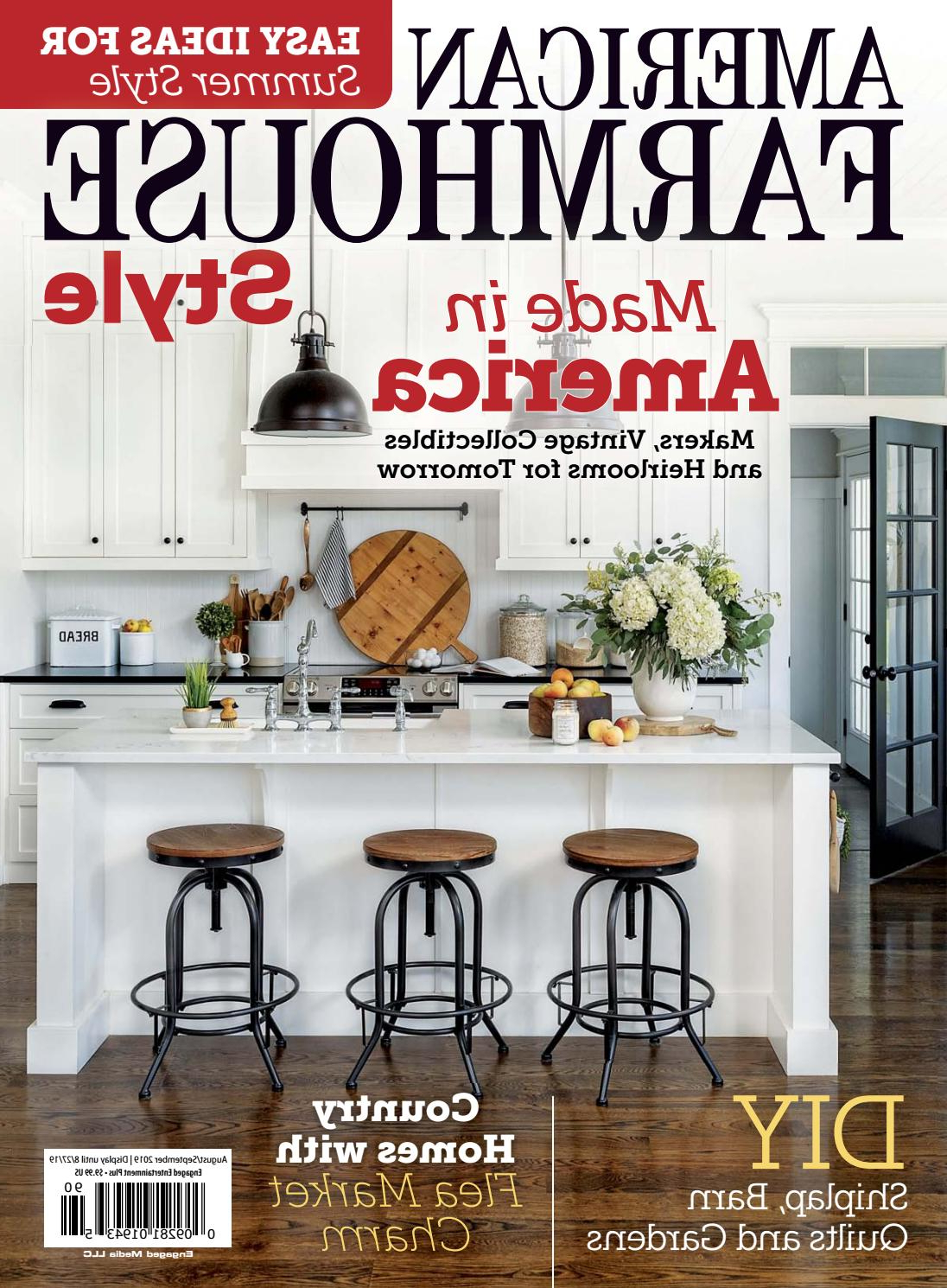 Ammerman 1 Light Cone Pendants With Fashionable Aug/sept 2019American Farmhouse Style – Issuu (View 3 of 20)