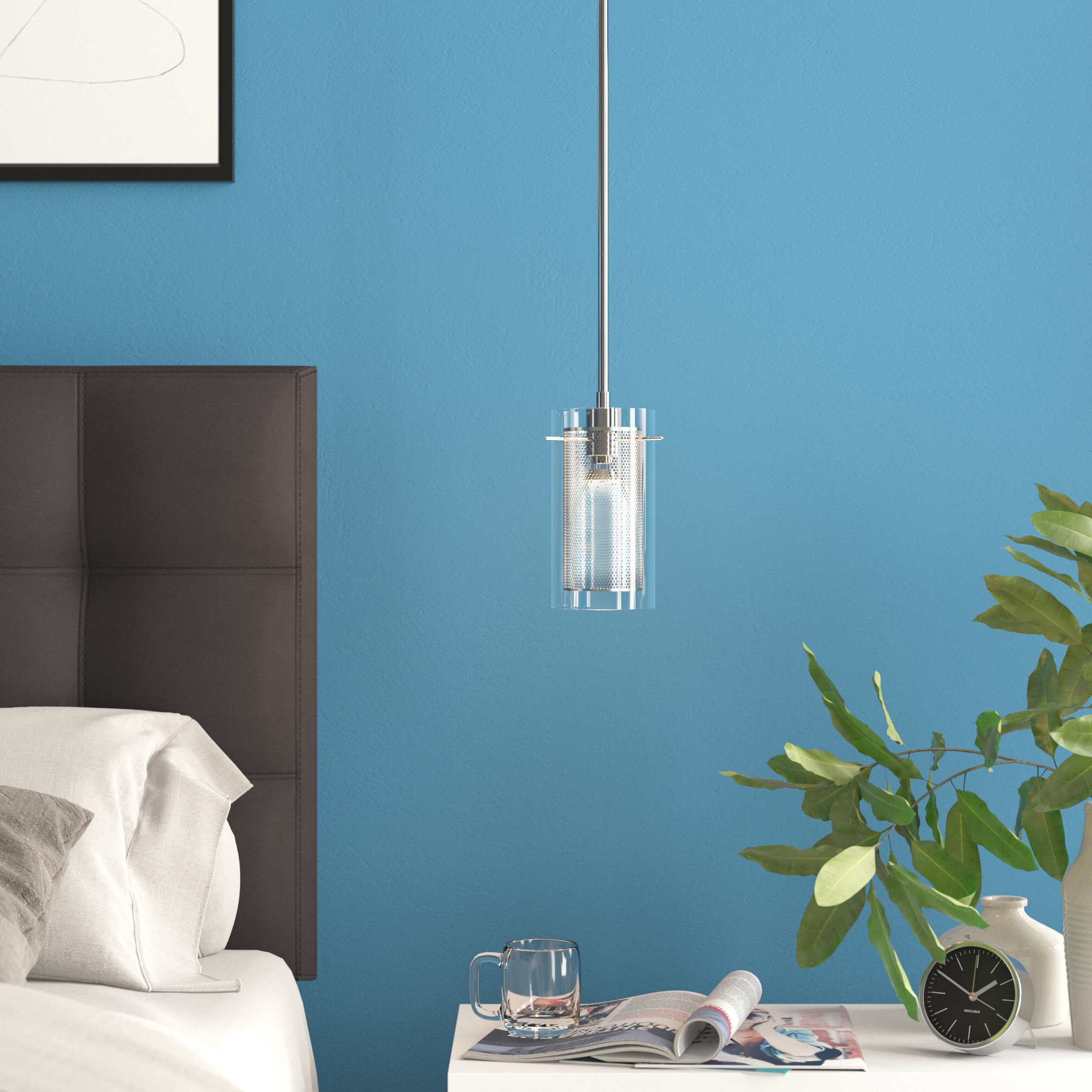 Ammerman 1 Light Cone Pendants Within Most Current Bakersfield 1 Light Cylinder Pendant (View 5 of 20)