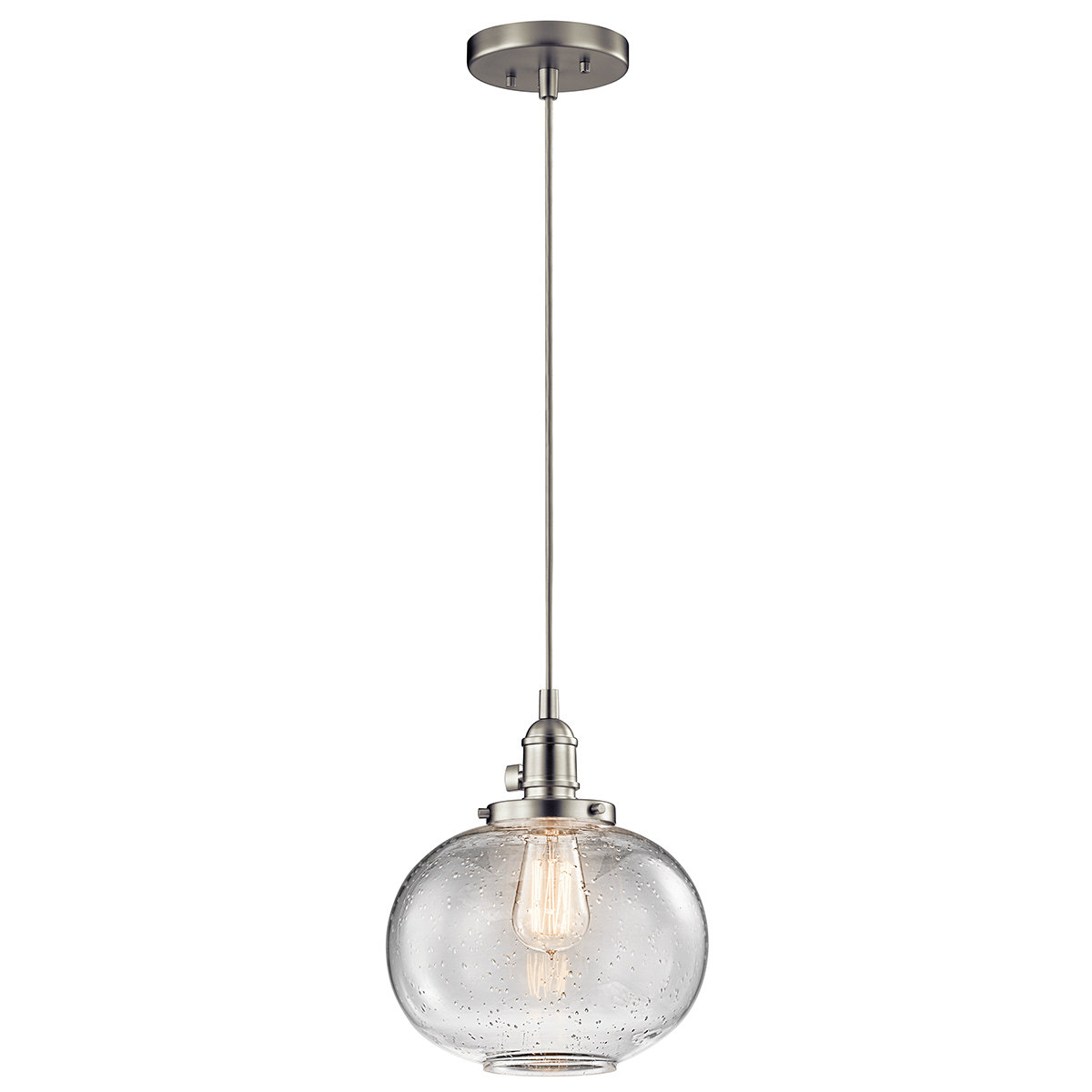 Antioch 1 Light Single Globe Pendant Inside Most Up To Date Abordale 1 Light Single Dome Pendants (View 7 of 20)