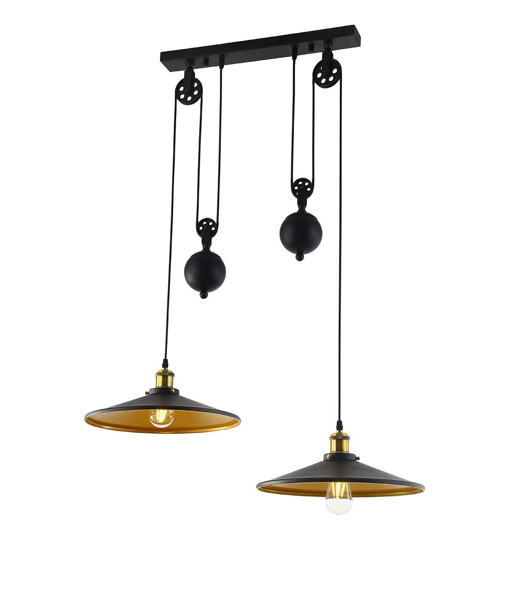 Ariel 3 Light Kitchen Island Dome Pendants With Most Up To Date A Metal Rise And Fall Pendant Ideal For Dining Tables Or (View 9 of 20)