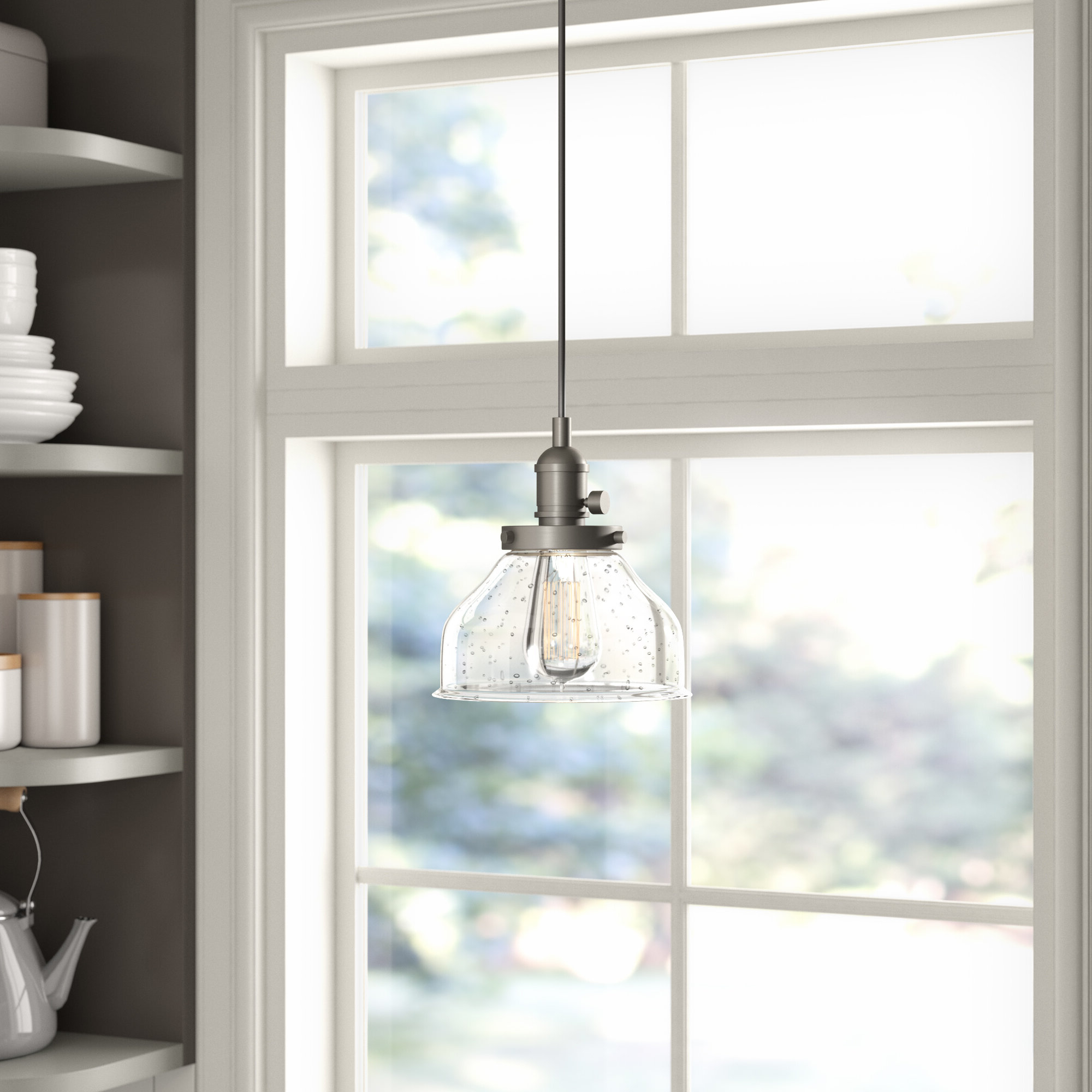 Best And Newest Antioch 1 Light Single Dome Pendant Pertaining To Akakios 1 Light Single Bell Pendants (View 7 of 20)