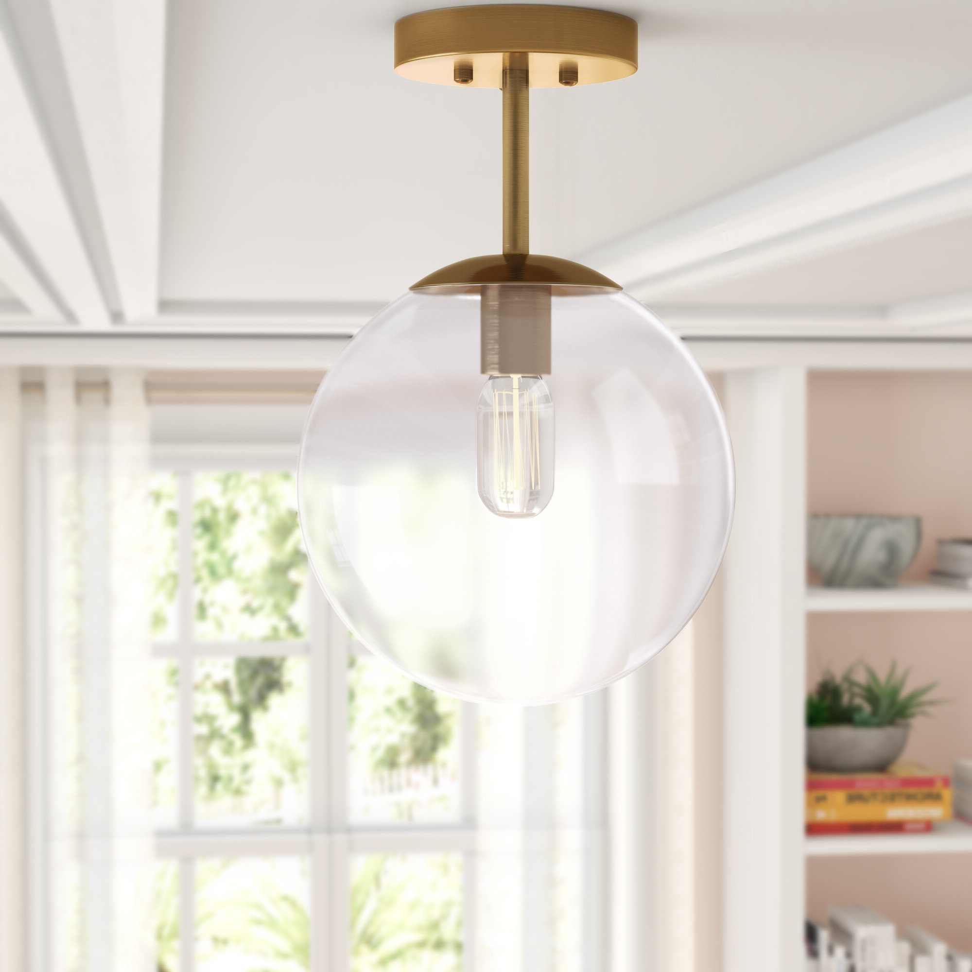 Best And Newest Cournoyer 1 Light Globe Pendant With Regard To 1 Light Globe Pendants (View 8 of 20)
