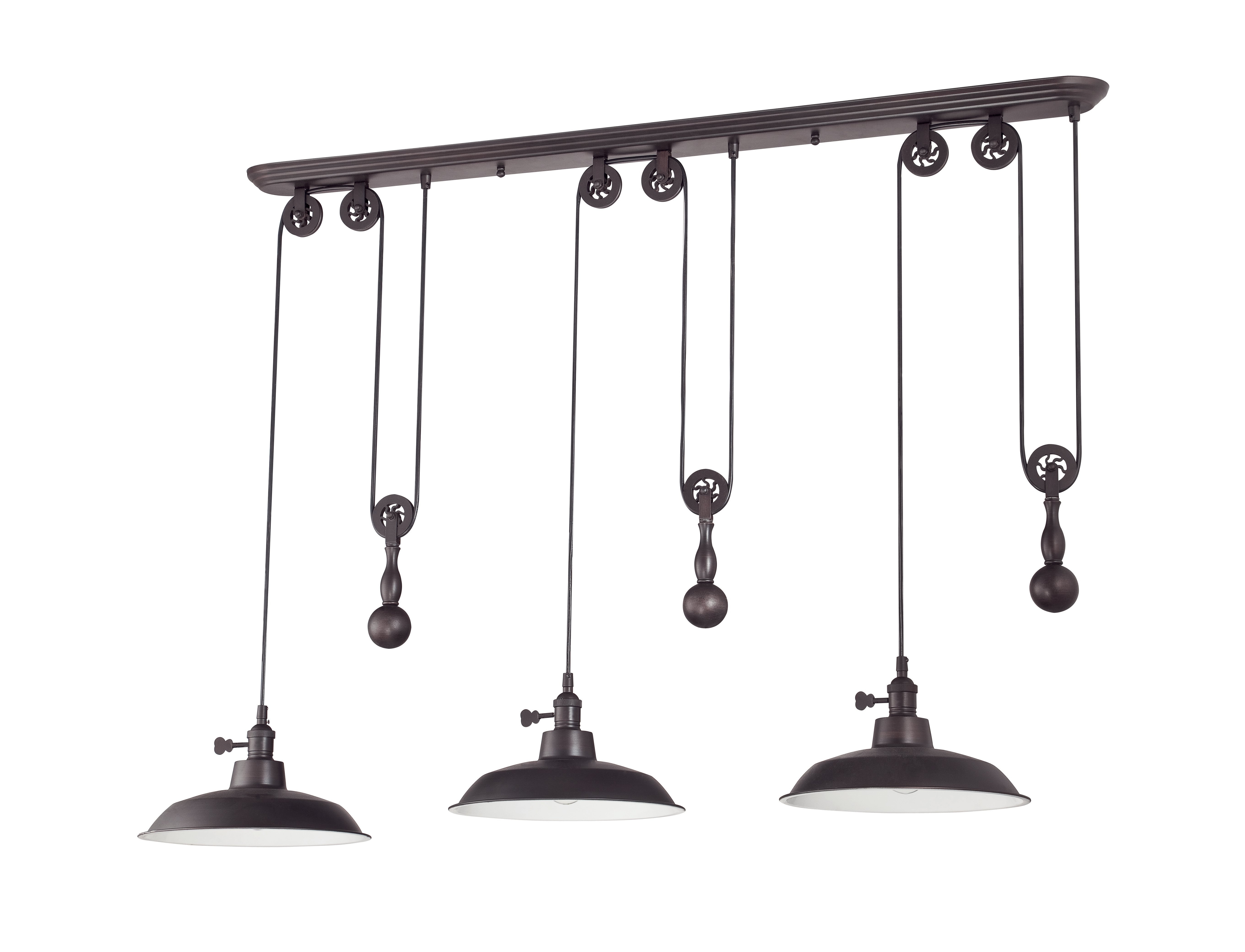 Current Ariel 3 Light Kitchen Island Dome Pendant Within Ariel 2 Light Kitchen Island Dome Pendants (View 11 of 20)
