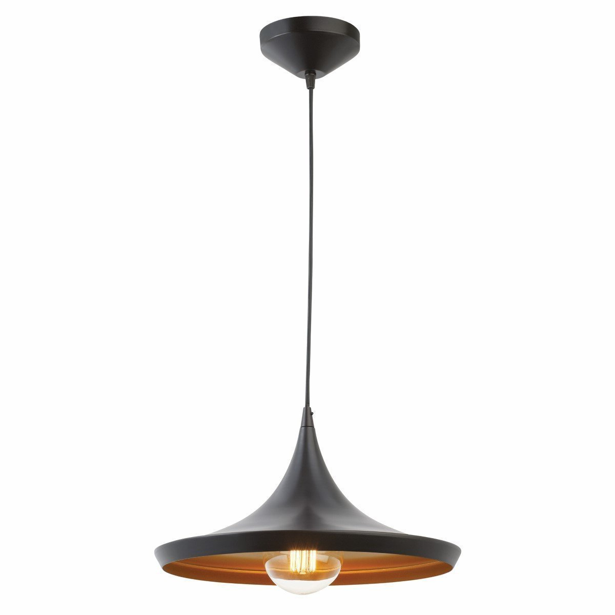 Details About Pendant Light Led Ceiling Lights Lamp Shade Industrial Cafe Lighting Kitchen Bar Within Most Recently Released Akash Industrial Vintage 1 Light Geometric Pendants (View 4 of 20)