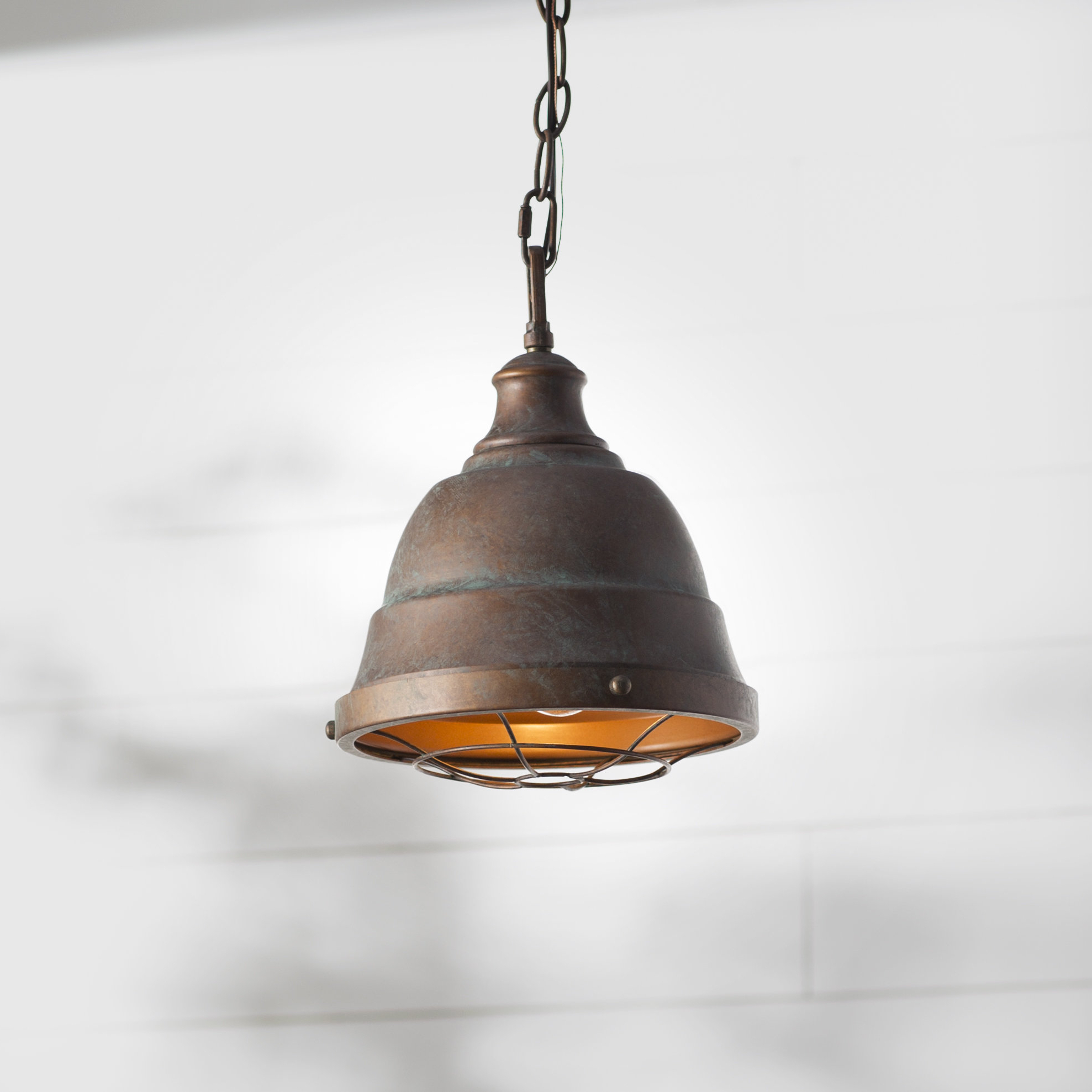 Elinna 1 Light Single Bell Pendant In Trendy 1 Light Single Bell Pendants (View 6 of 20)