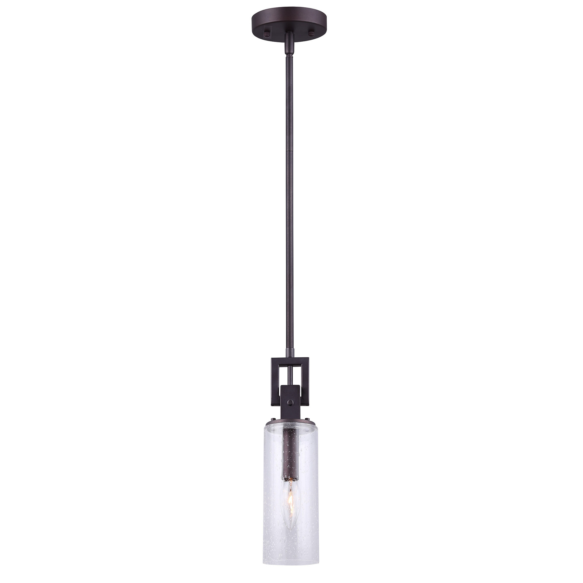 Famous Angelina 1 Light Single Cylinder Pendants With Mccary 1 Light Single Cylinder Pendant (View 14 of 20)