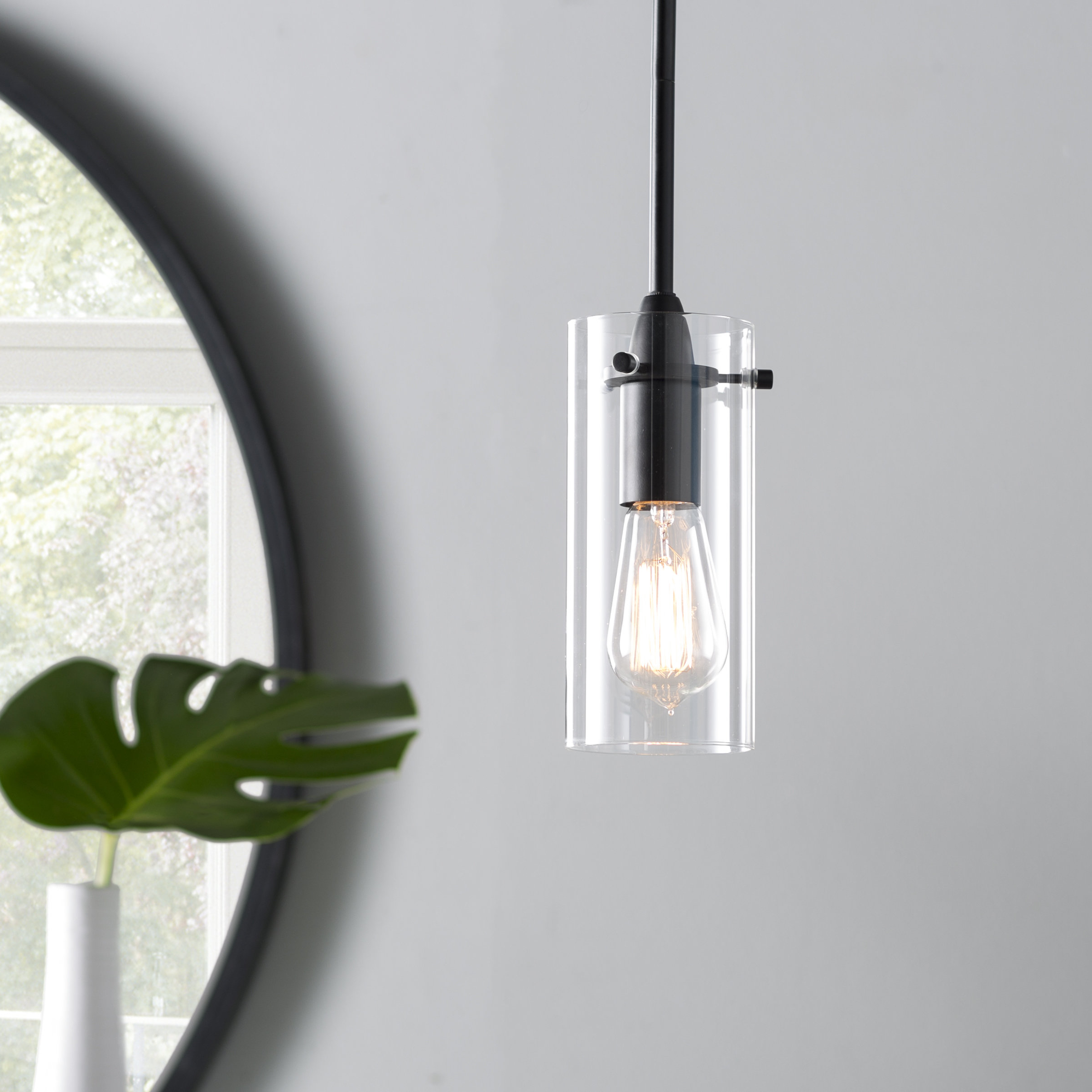 Famous Angelina 1 Light Single Cylinder Pendants With Regard To Angelina 1 Light Single Cylinder Pendant (View 15 of 20)