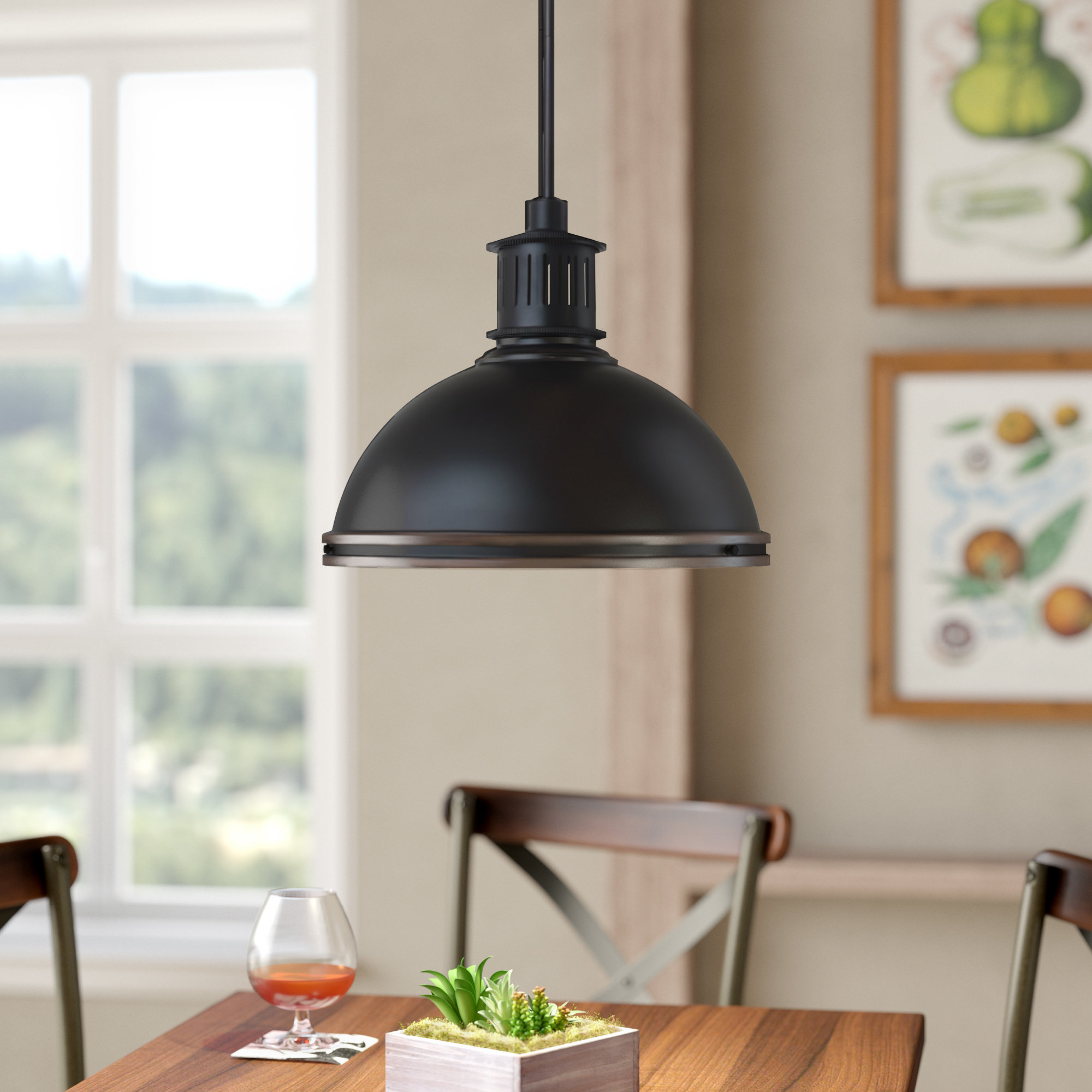 Favorite Orchard Hill 3 Light Dome Pendant Within Amara 3 Light Dome Pendants (Gallery 7 of 20)