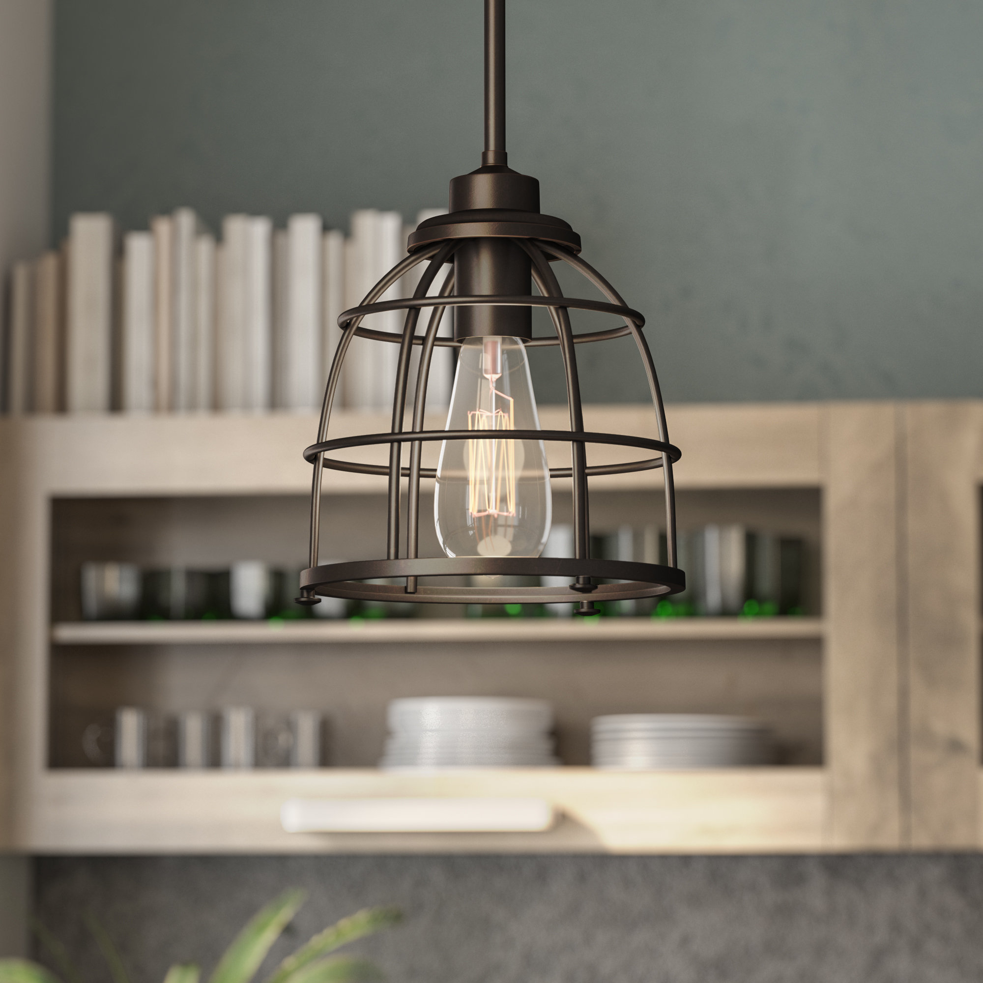 Harney 1 Light Single Bell Pendant Throughout Widely Used 1 Light Single Bell Pendants (View 8 of 20)