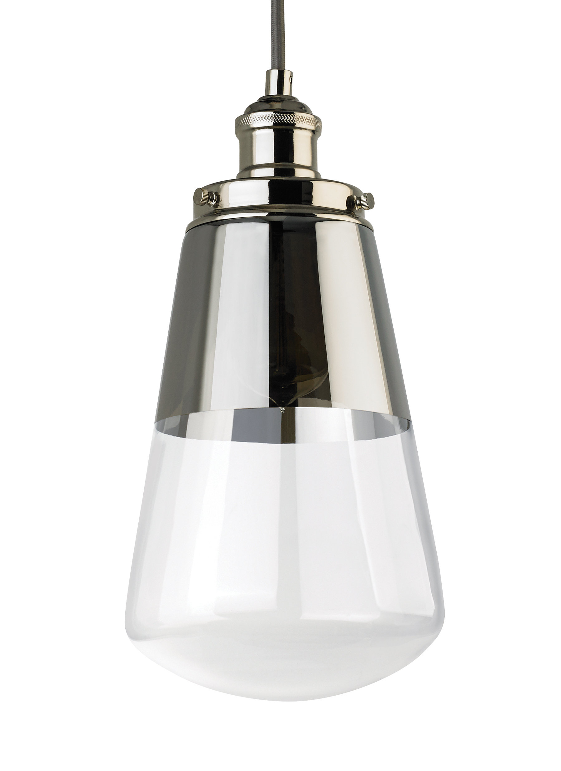 Jarne 1 Light Bulb Pendant Throughout Well Known Ammerman 1 Light Cone Pendants (View 10 of 20)