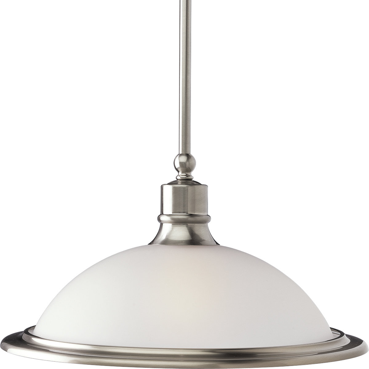 Latest Abernathy 1 Light Dome Pendants Within Vangorder 1 Light Dome Pendant (View 9 of 20)