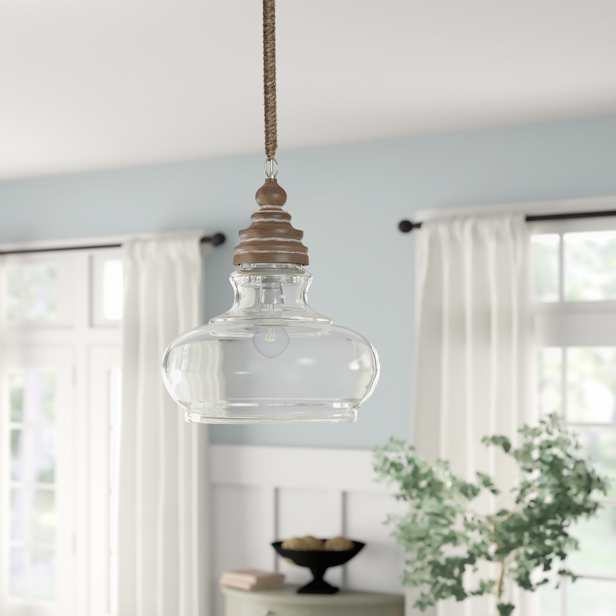 Maelle 1 Light Bell Pendant Intended For Trendy Akakios 1 Light Single Bell Pendants (Gallery 20 of 20)