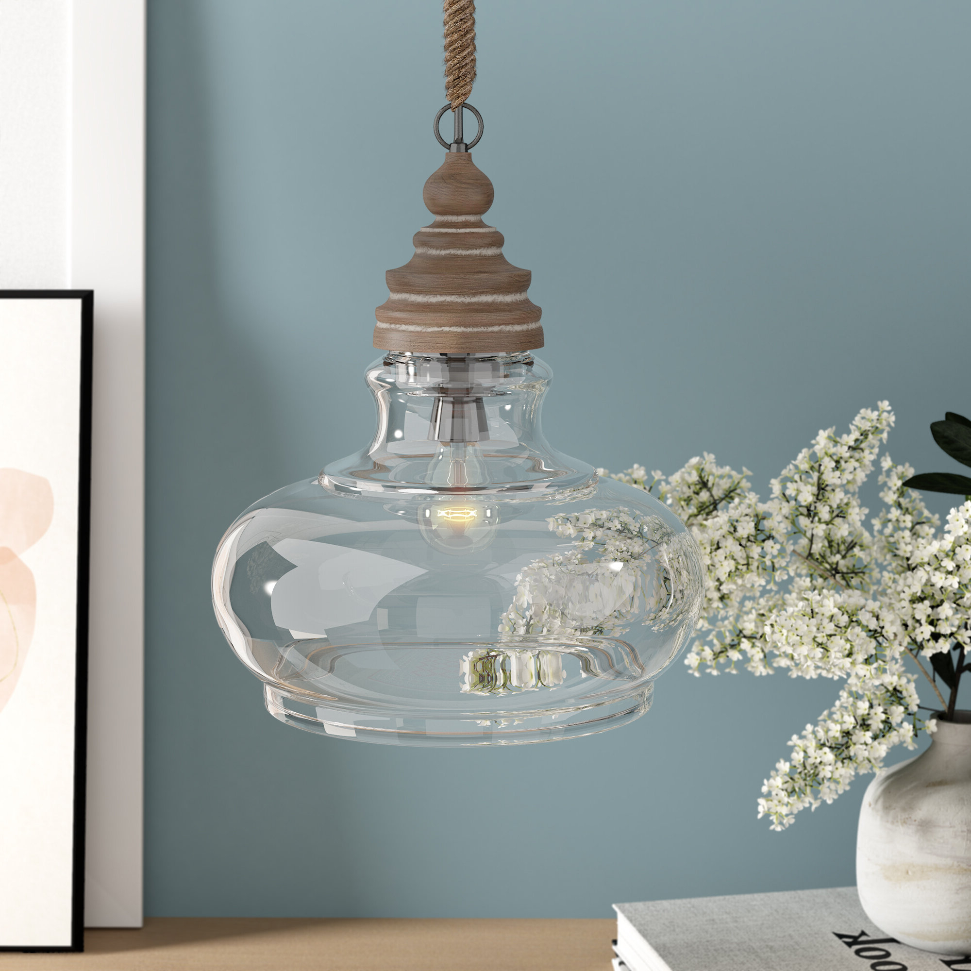Maelle 1 Light Single Bell Pendant Within Most Popular 1 Light Single Bell Pendants (View 11 of 20)