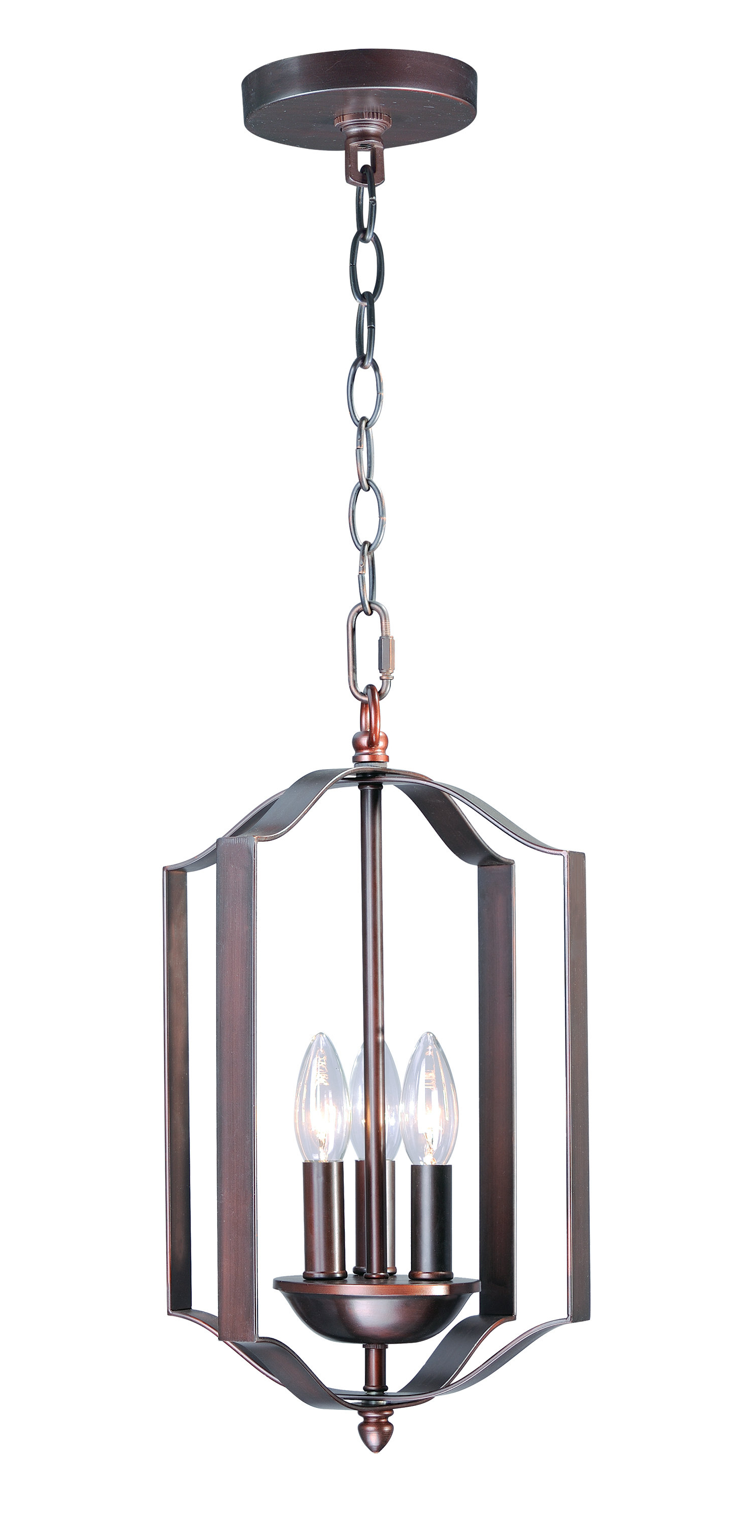 Mielke 3 Light Single Geometric Chandelier Intended For Most Recently Released Akash Industrial Vintage 1 Light Geometric Pendants (Gallery 11 of 20)