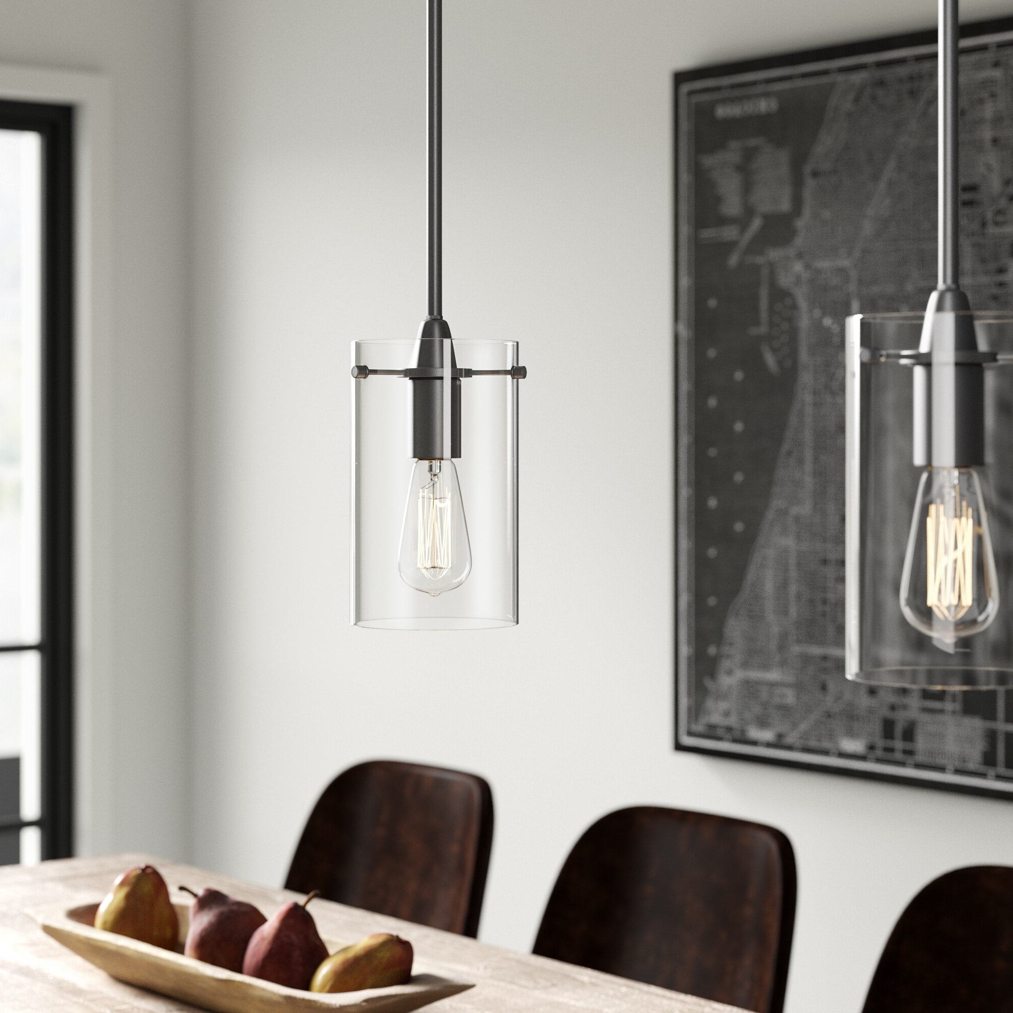 Most Current Angelina 1 Light Single Cylinder Pendants Pertaining To Angelina 1 Light Single Cylinder Pendant (View 17 of 20)